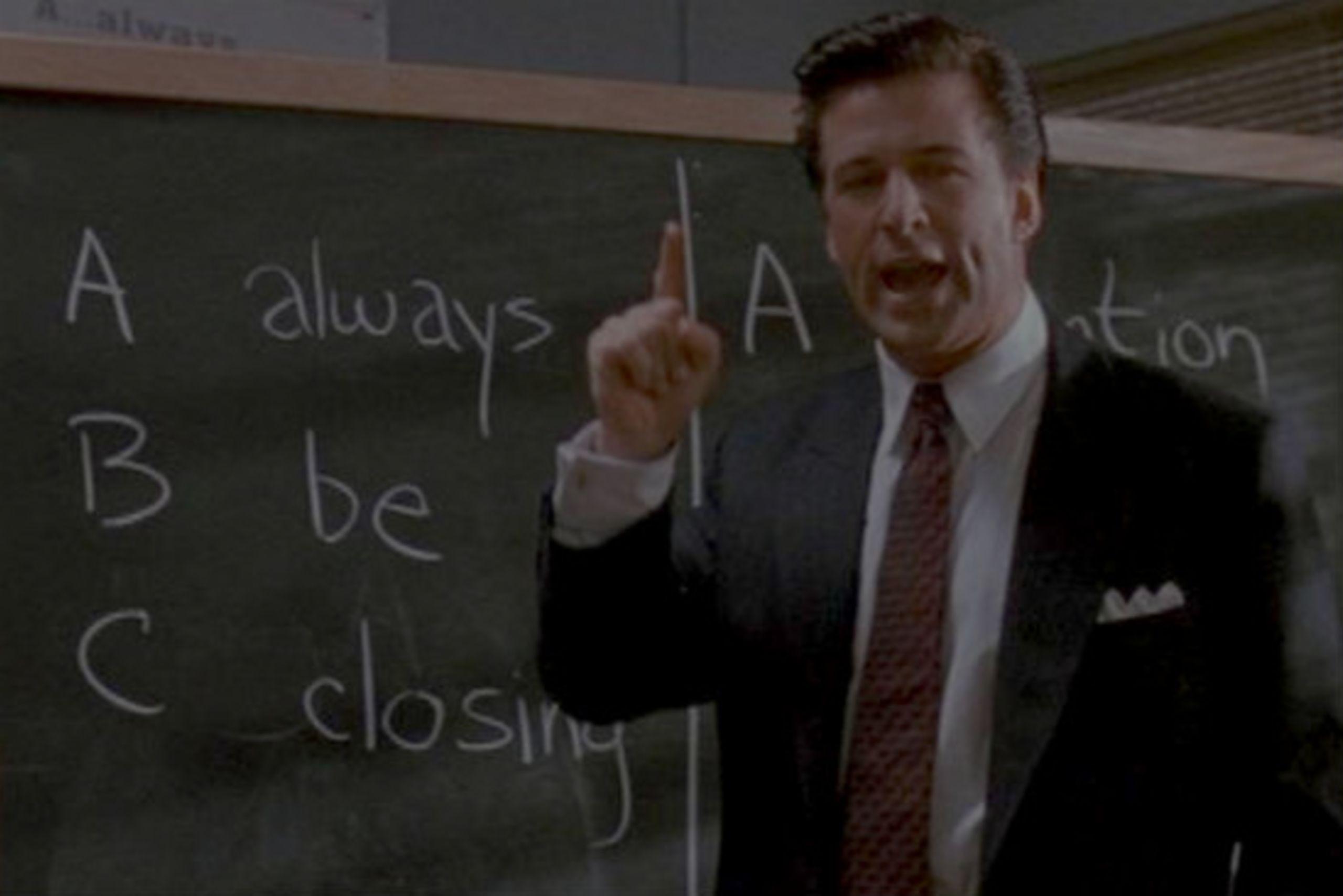 "Business Tips From the Movie ""Glengarry Glen Ross"""