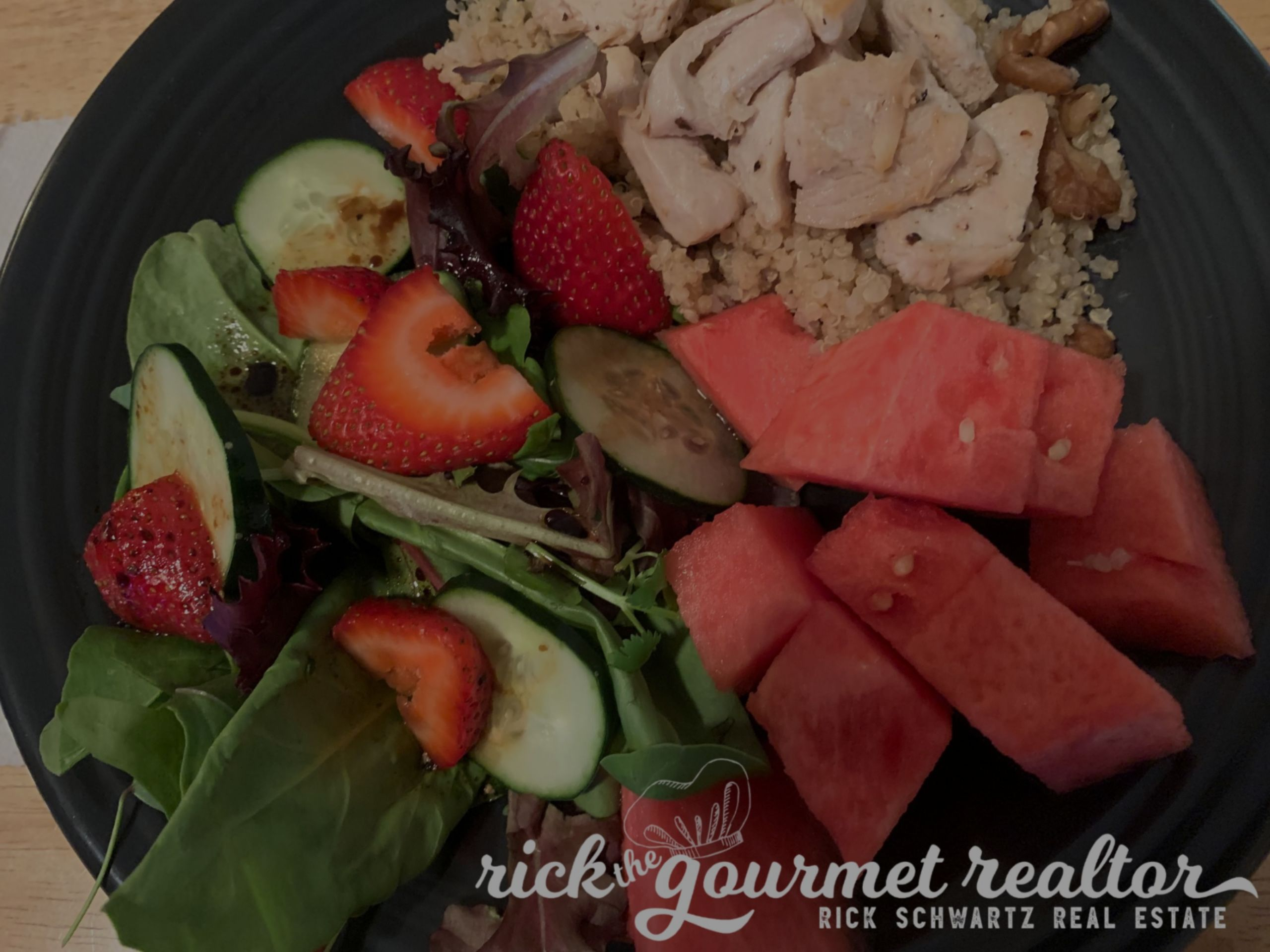 Quinoa and Watermelon Salad