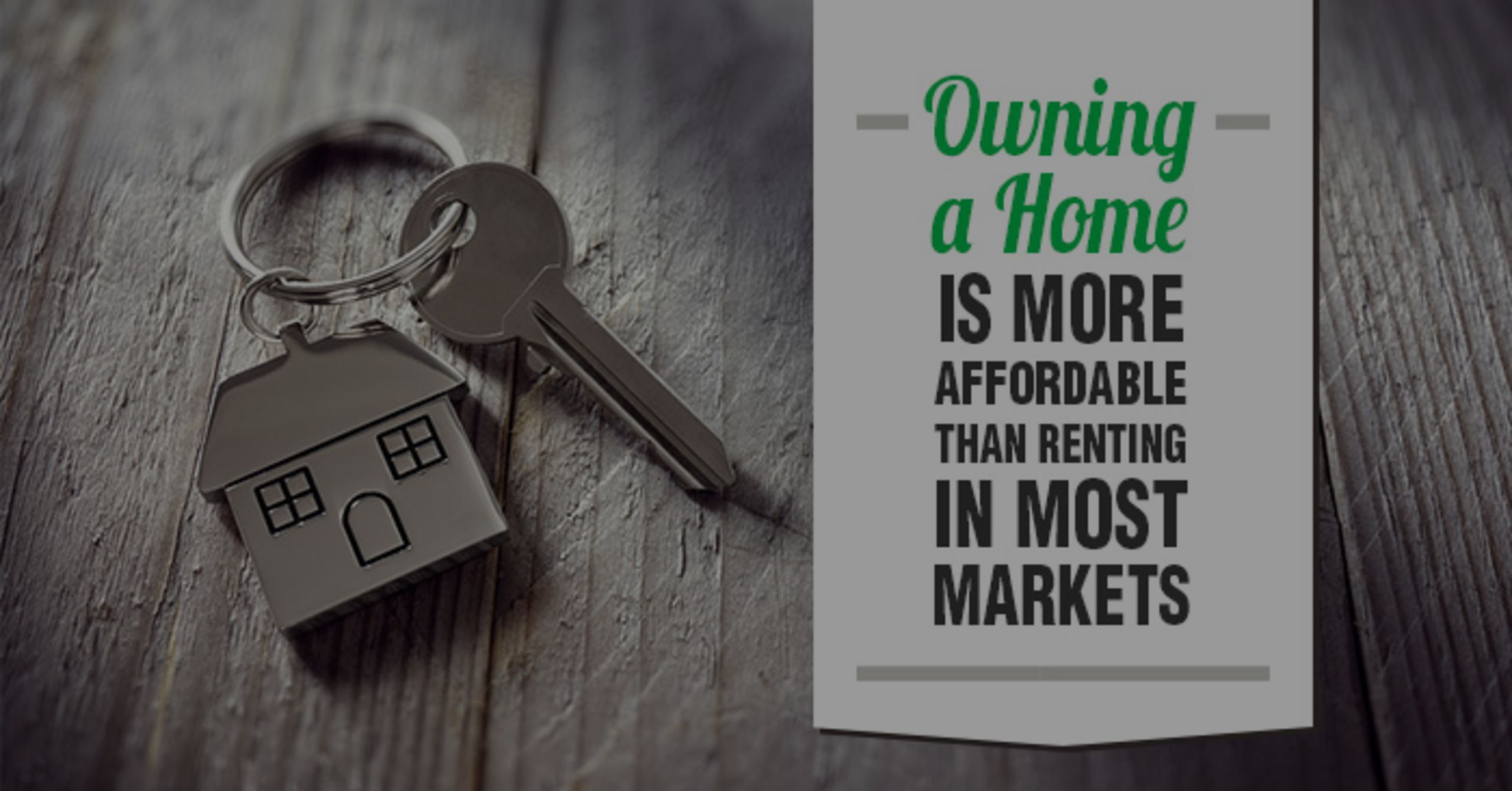 Owning A Home Is More Affordable Than Renting In Most Markets In The US