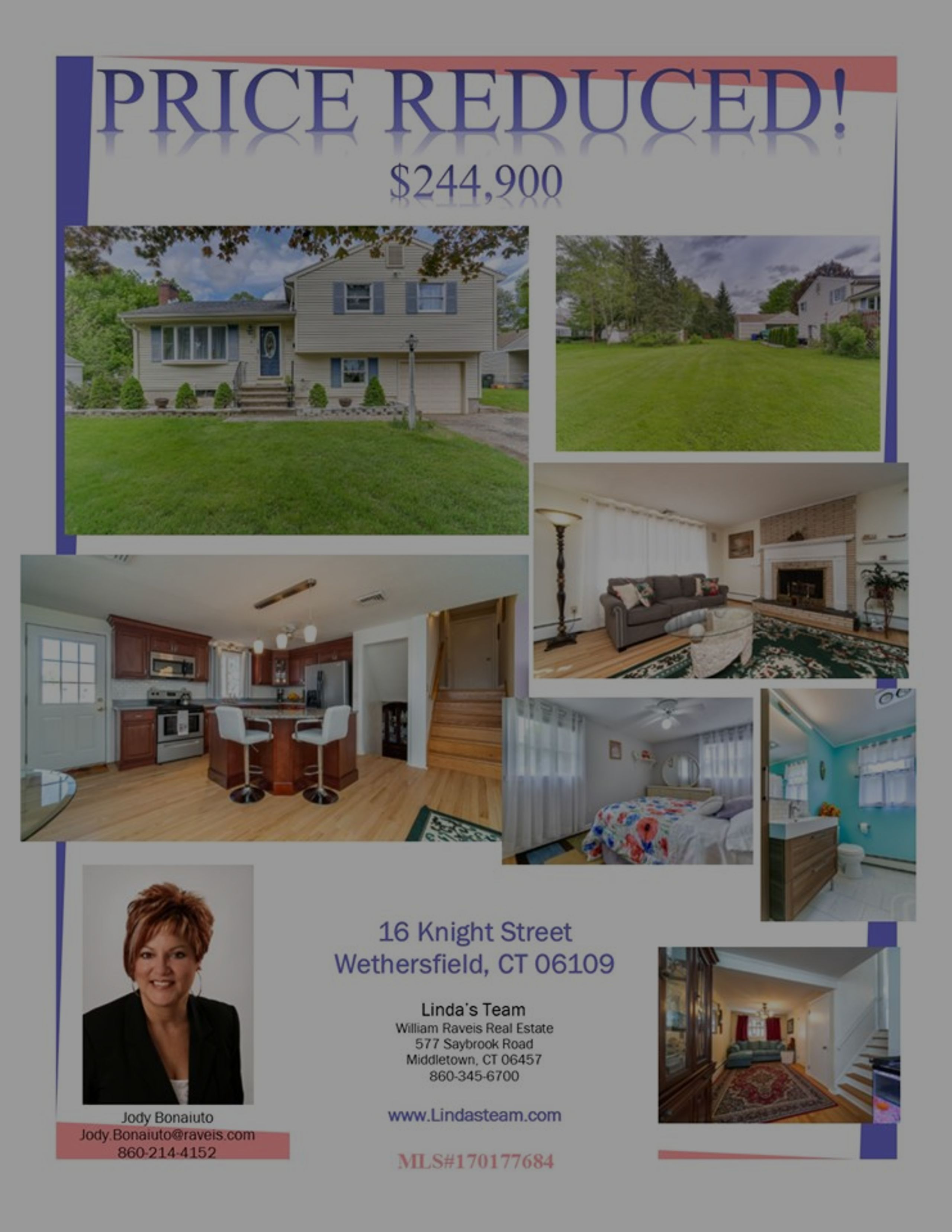 *PRICE REDUCED* 16 Knight Street, Wethersfield, CT