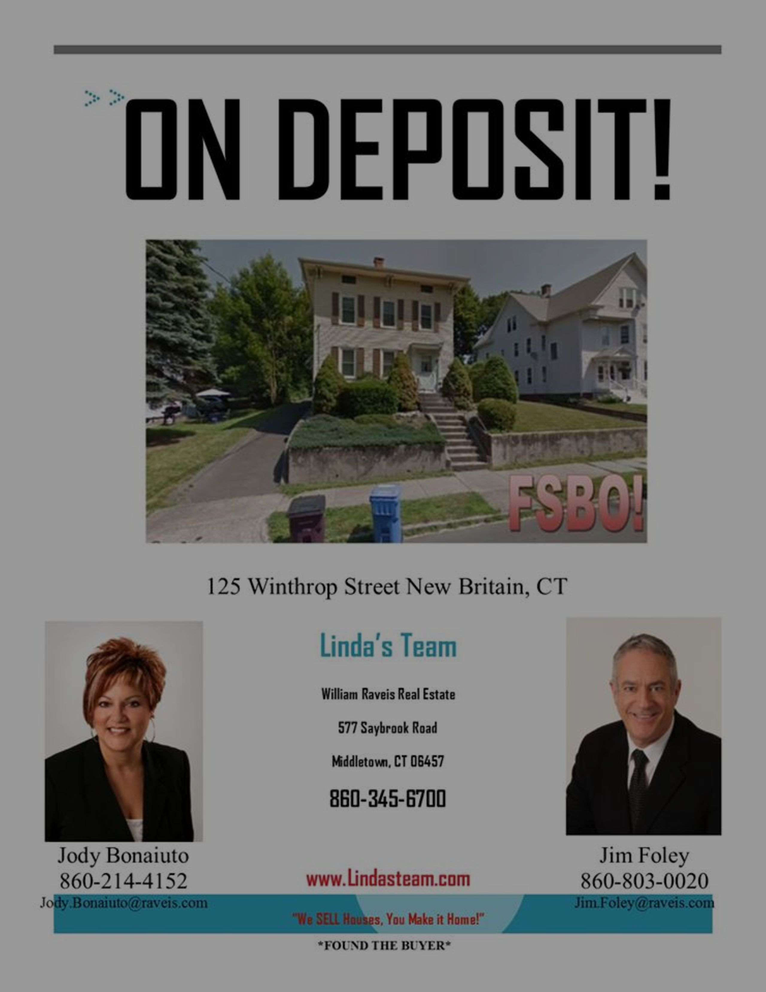 *ON DEPOSIT* 125 Winthrop Street, New Britain, CT
