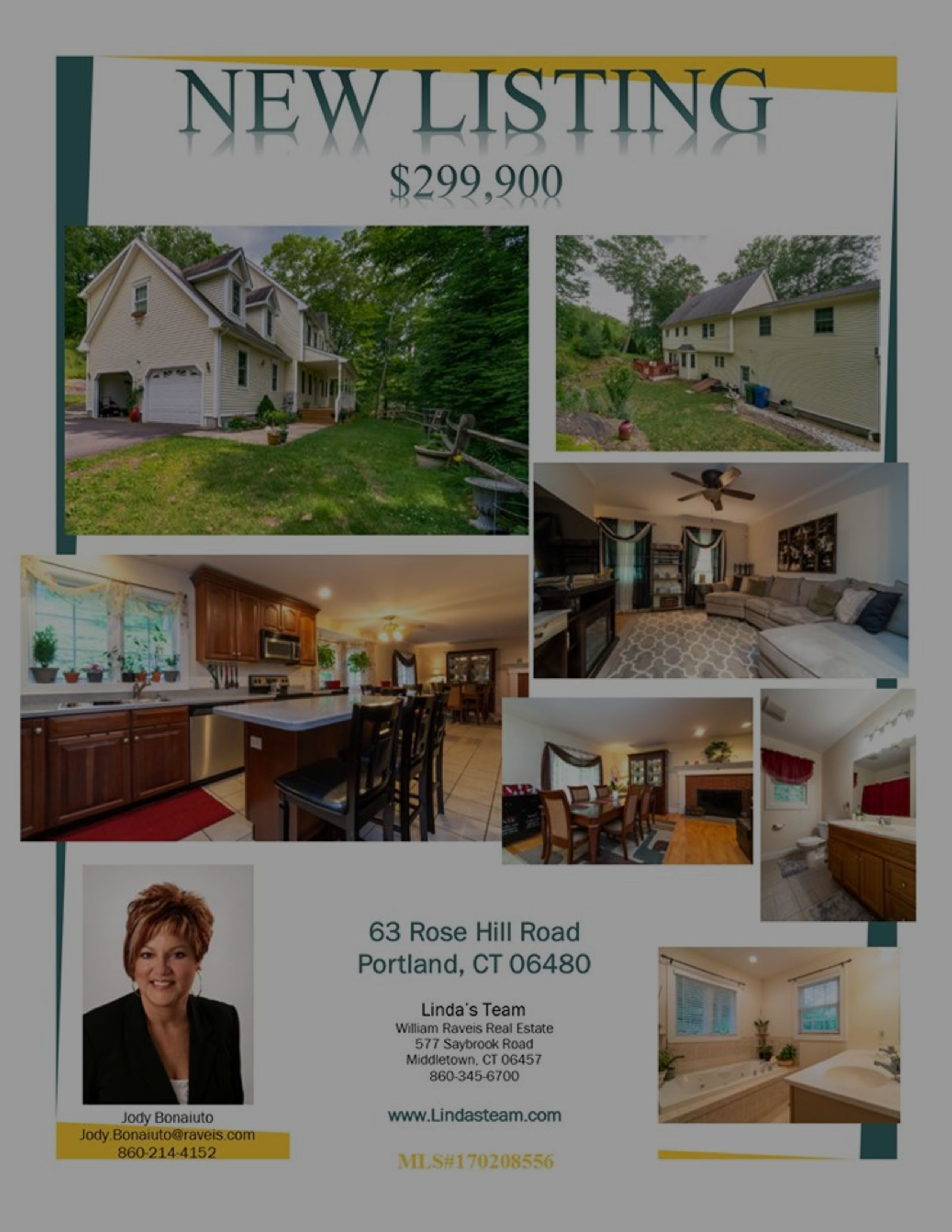 *NEW LISTING* 63 Rose Hill Road, Potrland, CT 06480