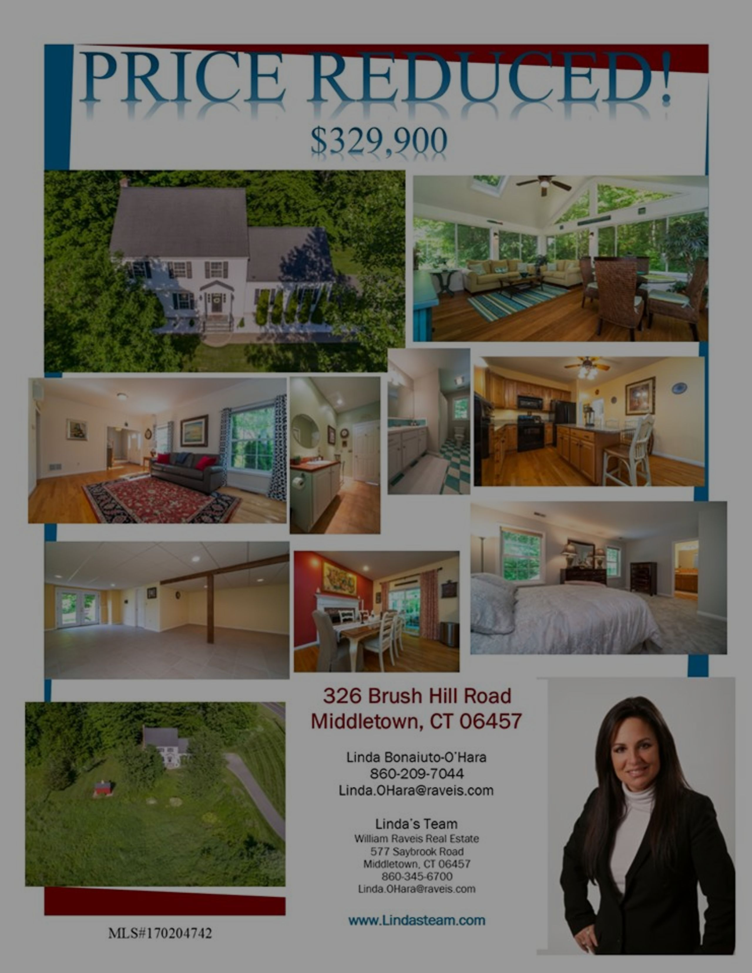 *PRICE REDUCED* 326 Brush Hill Road Middletown, CT 06457