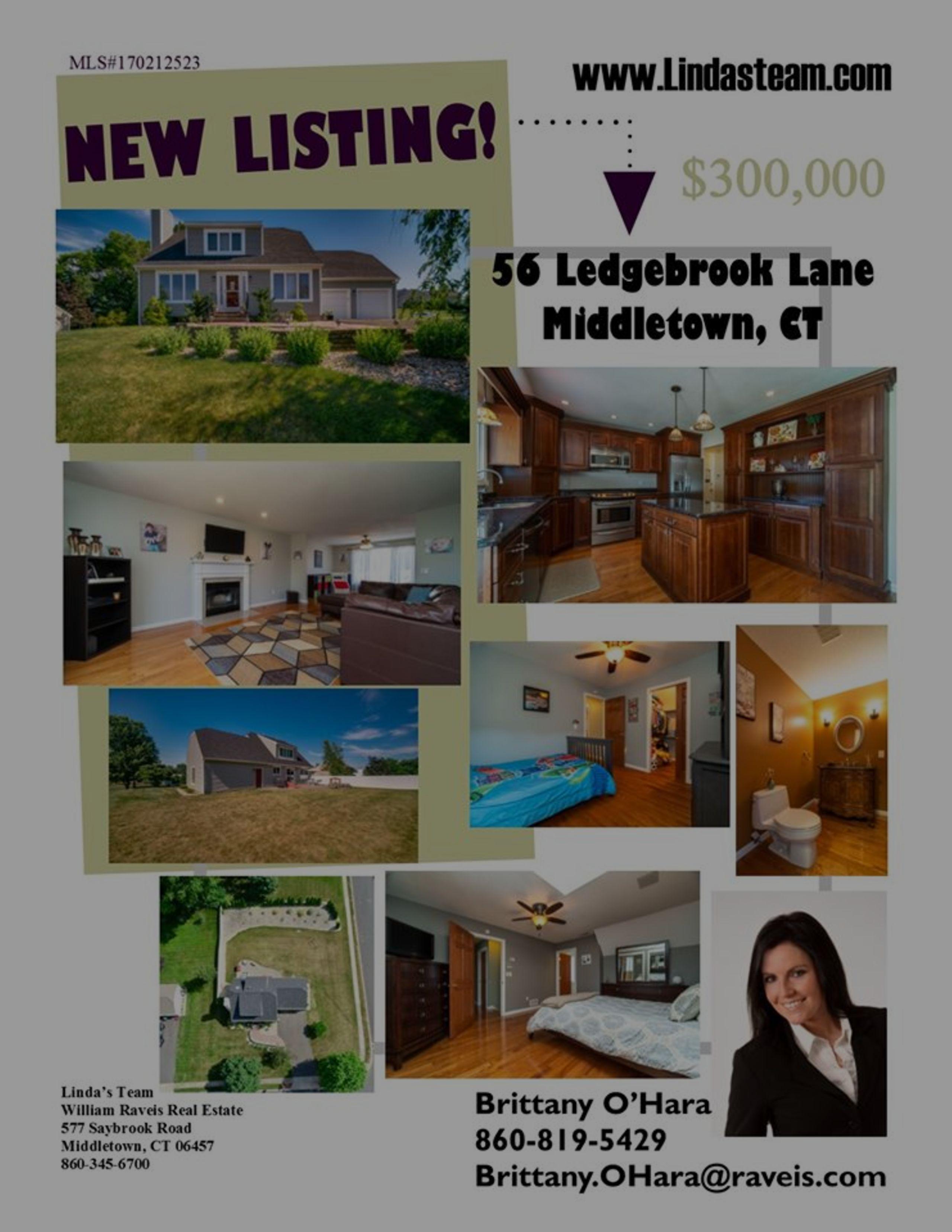 *NEW LISTING* 56 Ledgebrook Lane Middletown, CT 06457