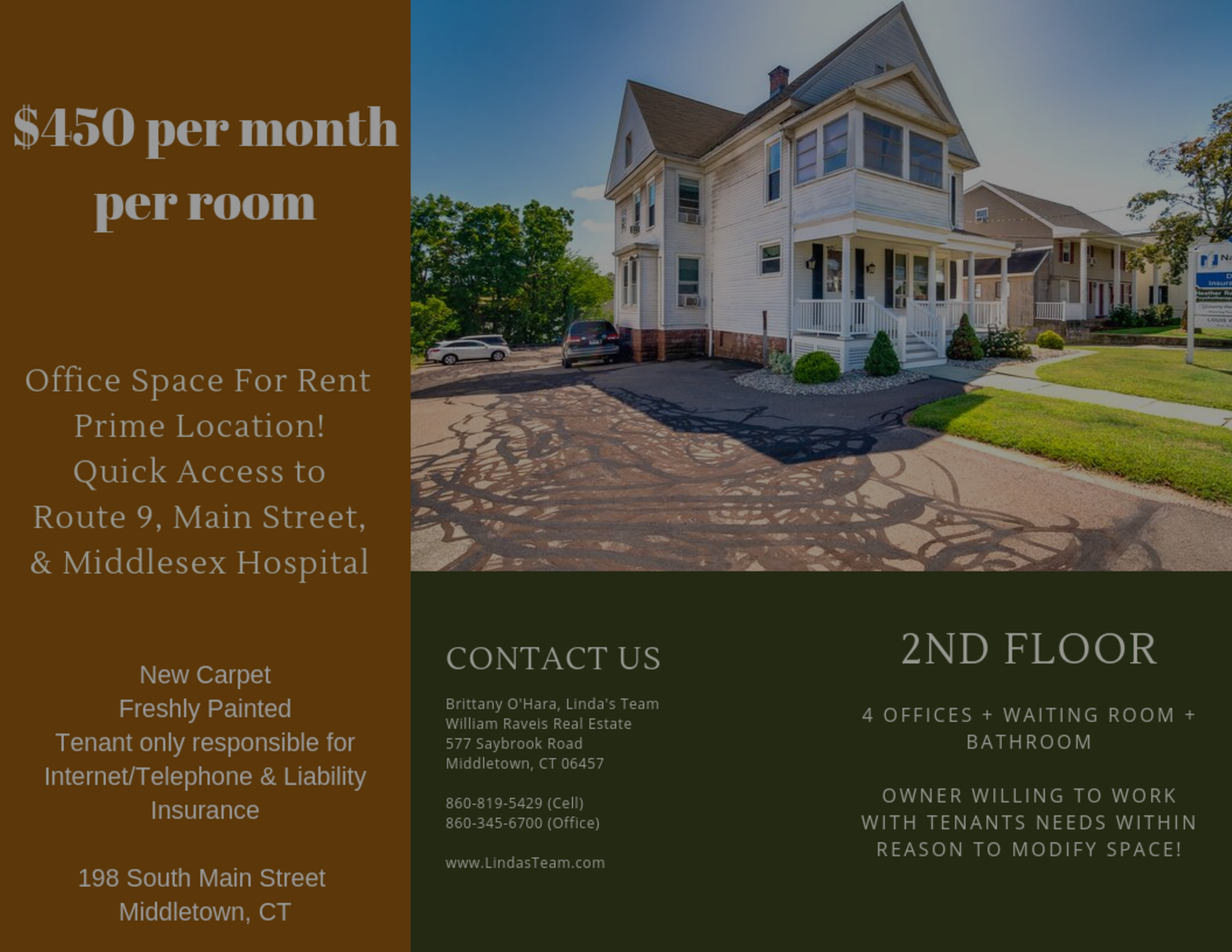 Office Space for Rent in Middletown!