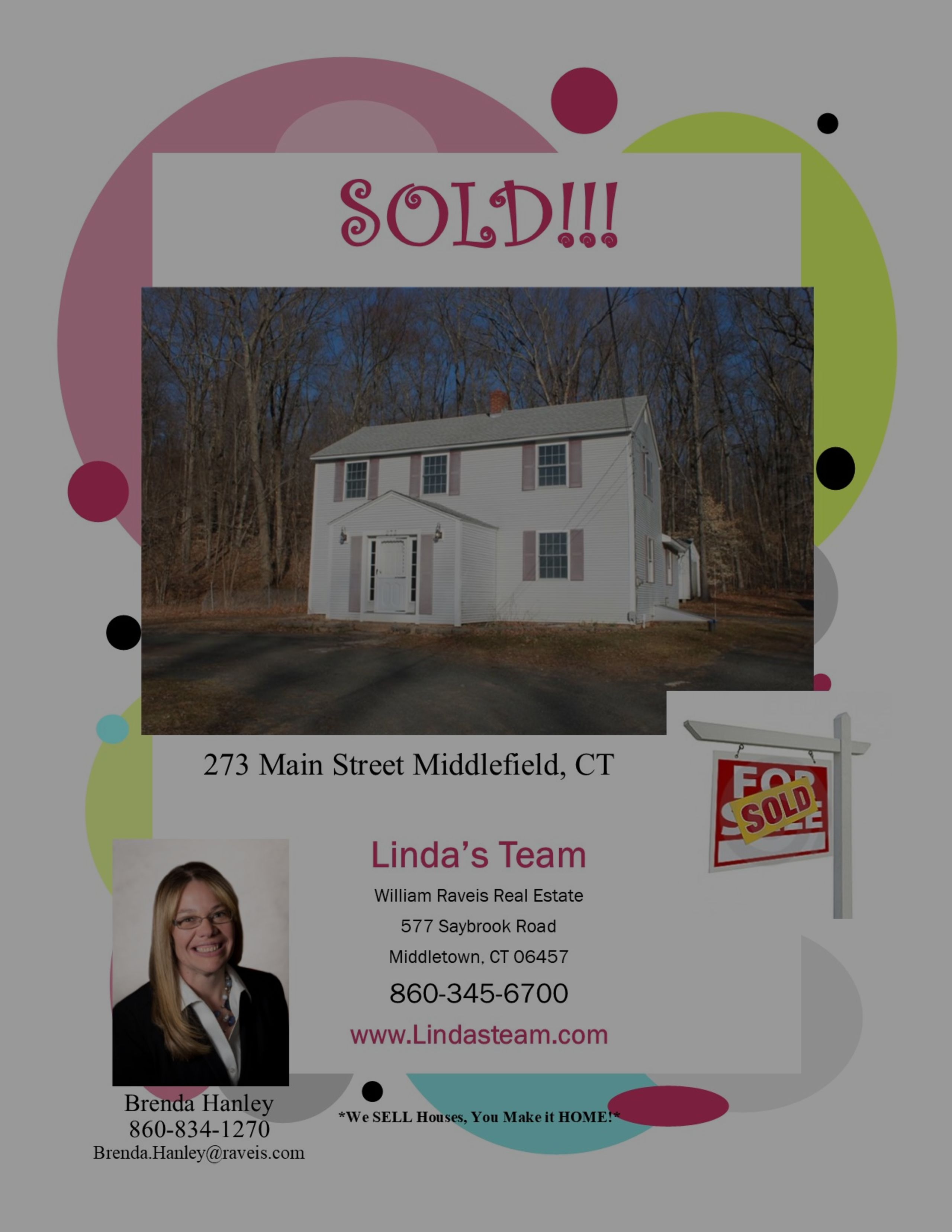 SOLD in Middlefield!