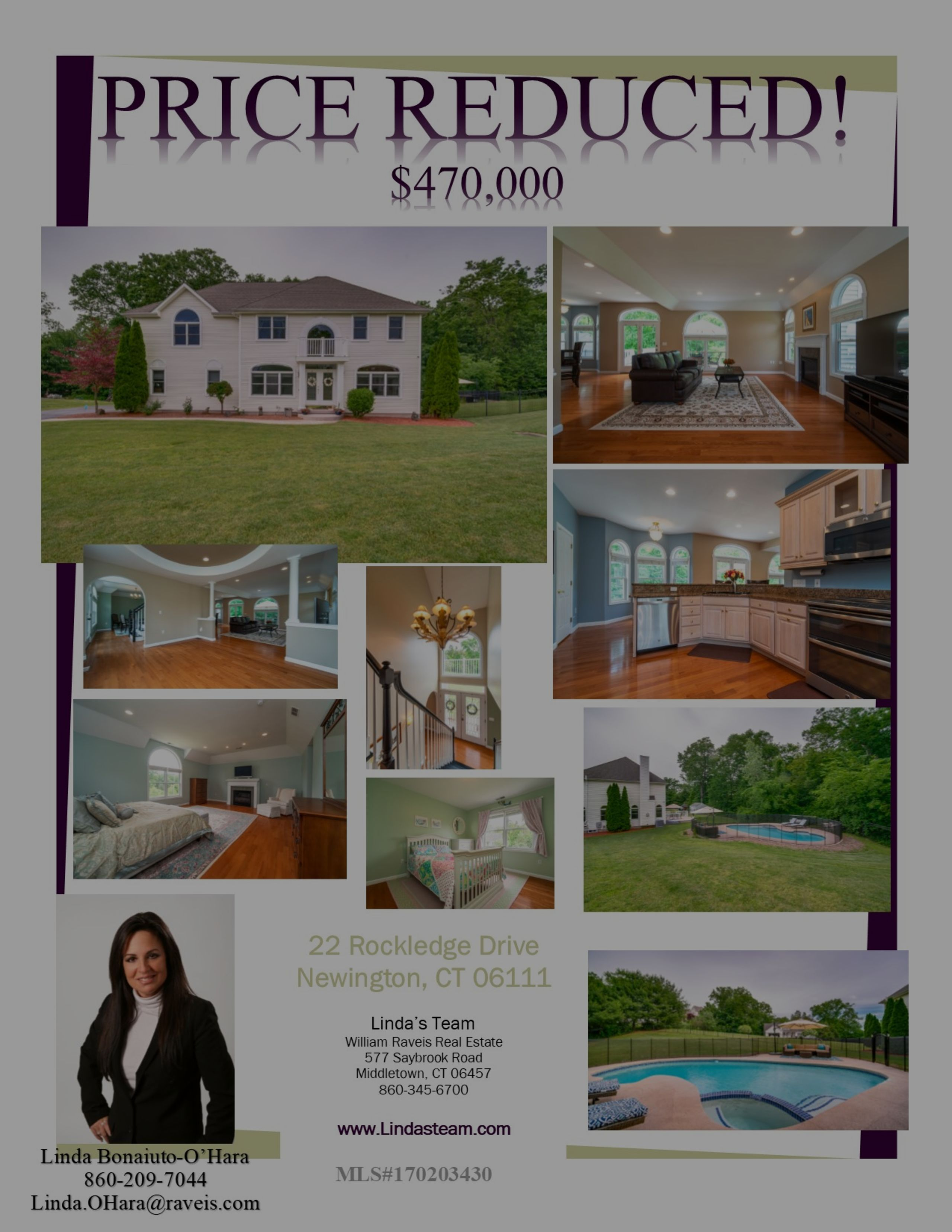 Reduced in Newington!