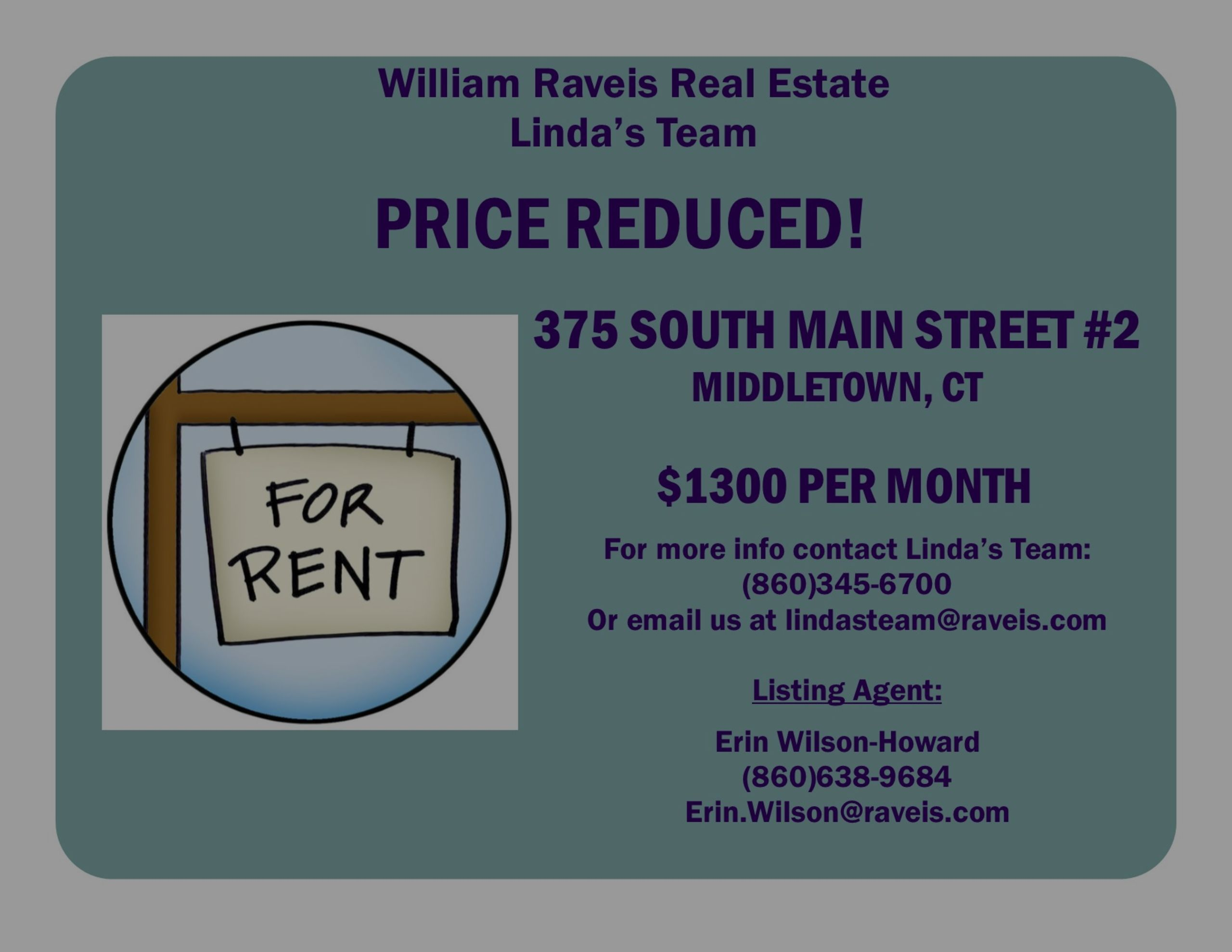 PRICE REDUCED RENTAL IN MIDDLETOWN!