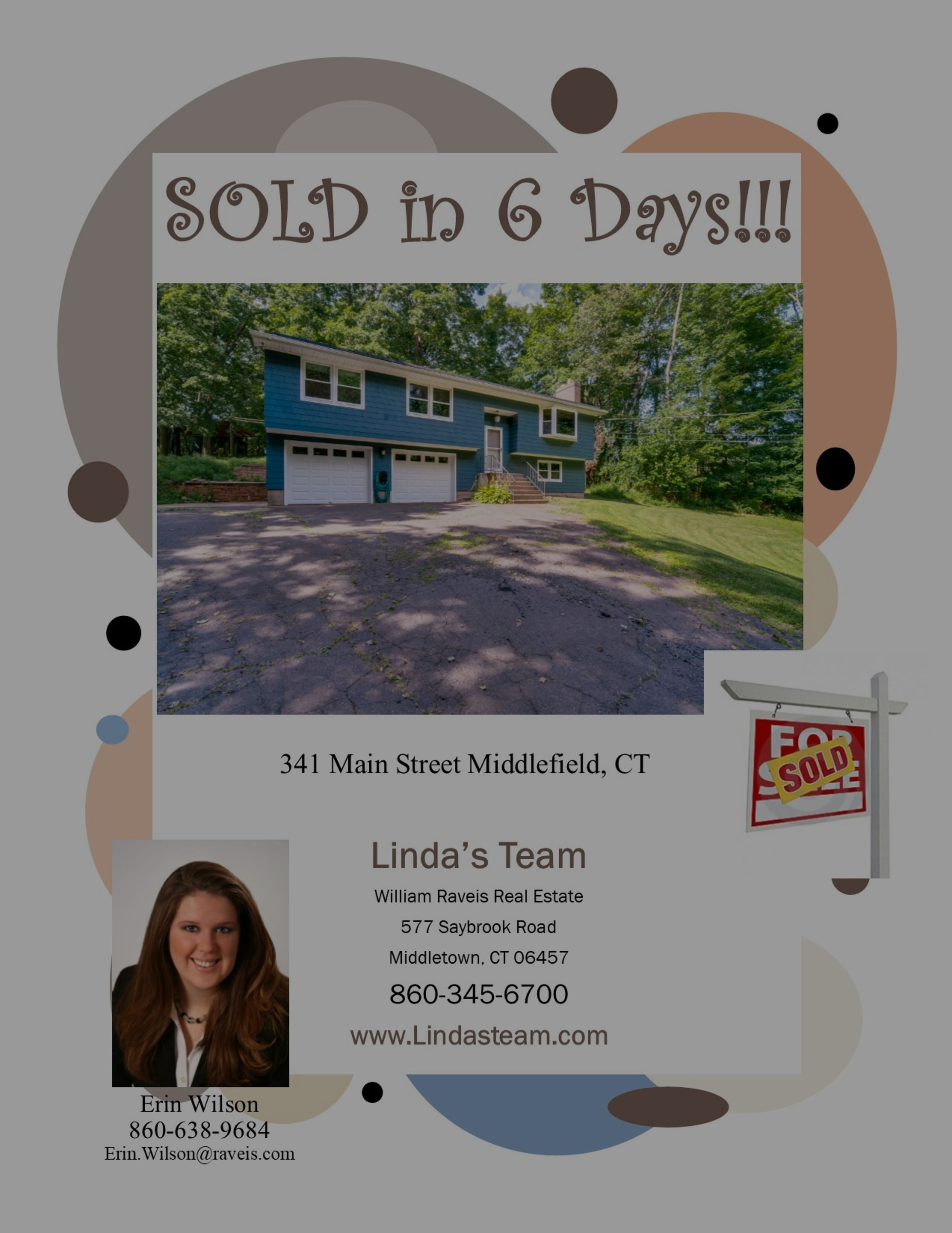 SOLD in 6 Days in Middlefield!