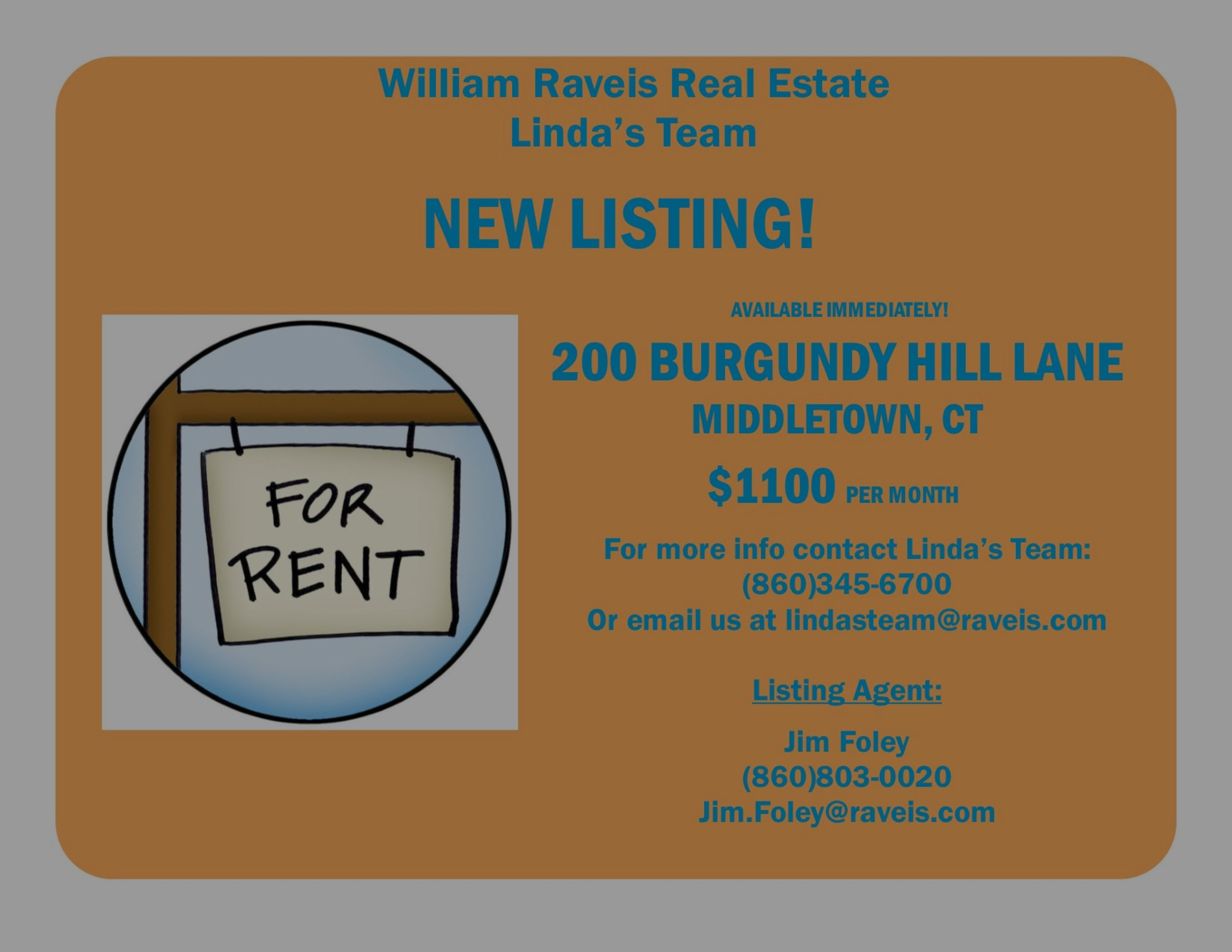 New Rental Listing in Middletown