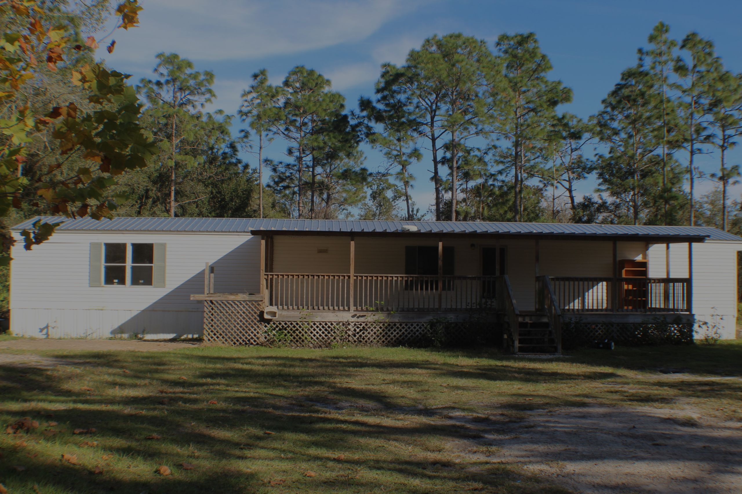 REDUCED! 5 Acres and 3/2 Mobile in Beautiful Geneva, FL $175K