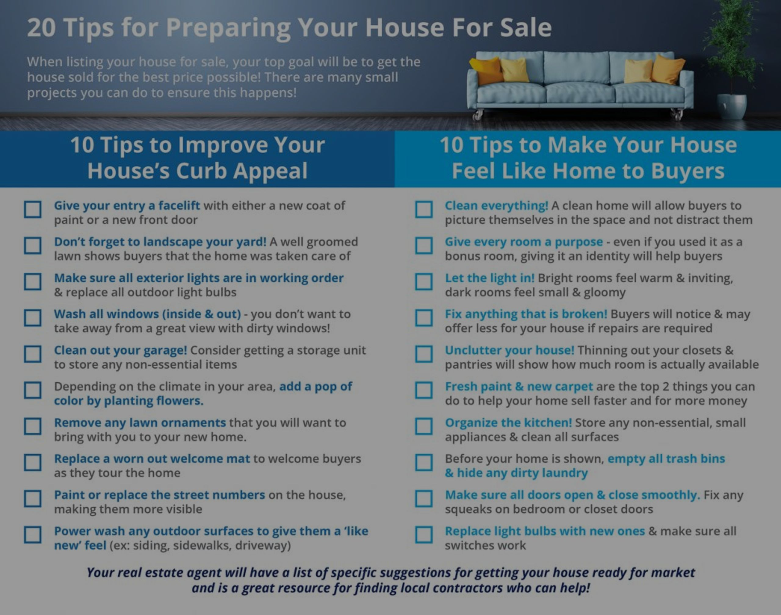20 Tips for Preparing Your Home for Sale this Spring