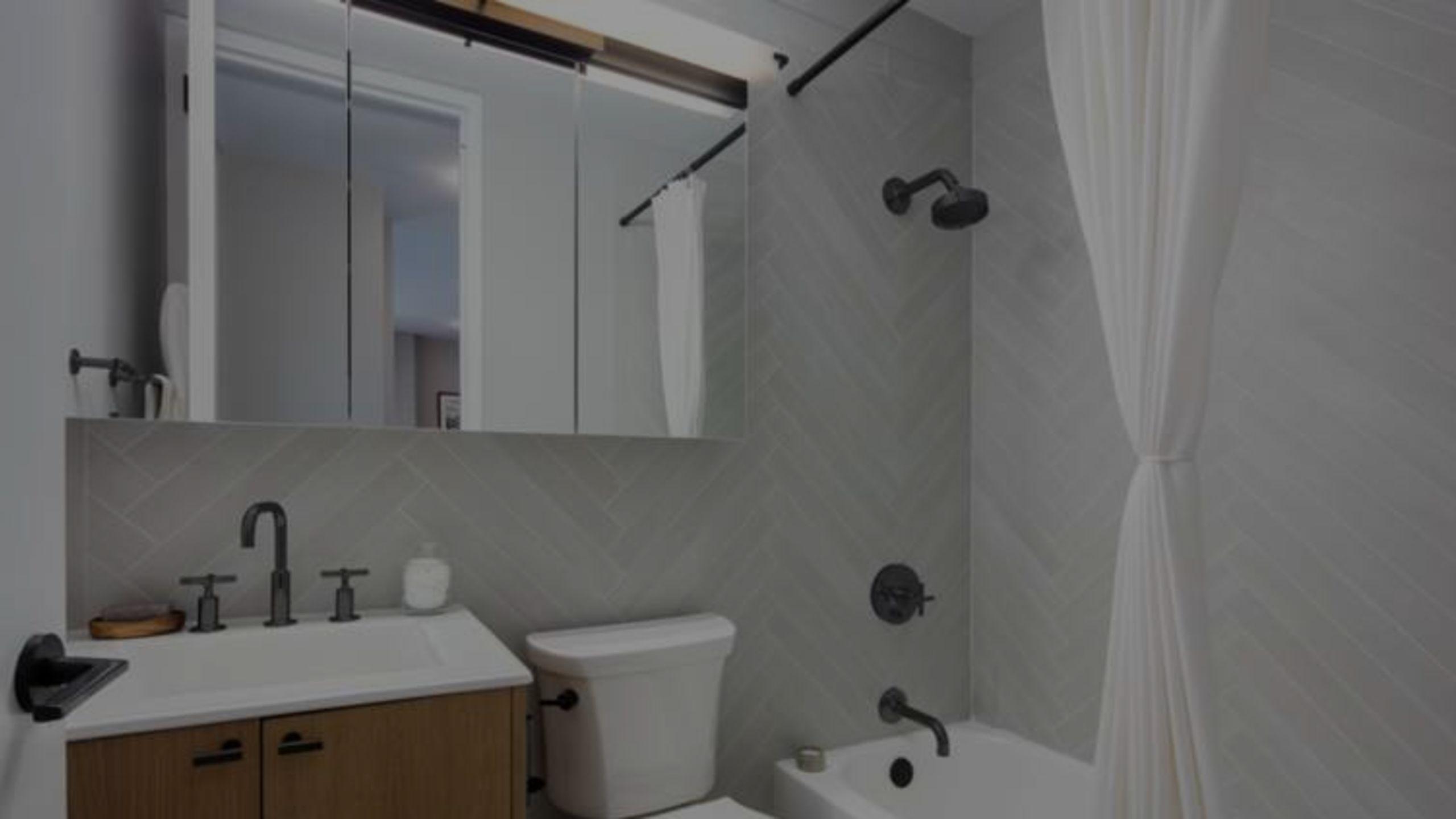 The $100 Bathroom Makeover