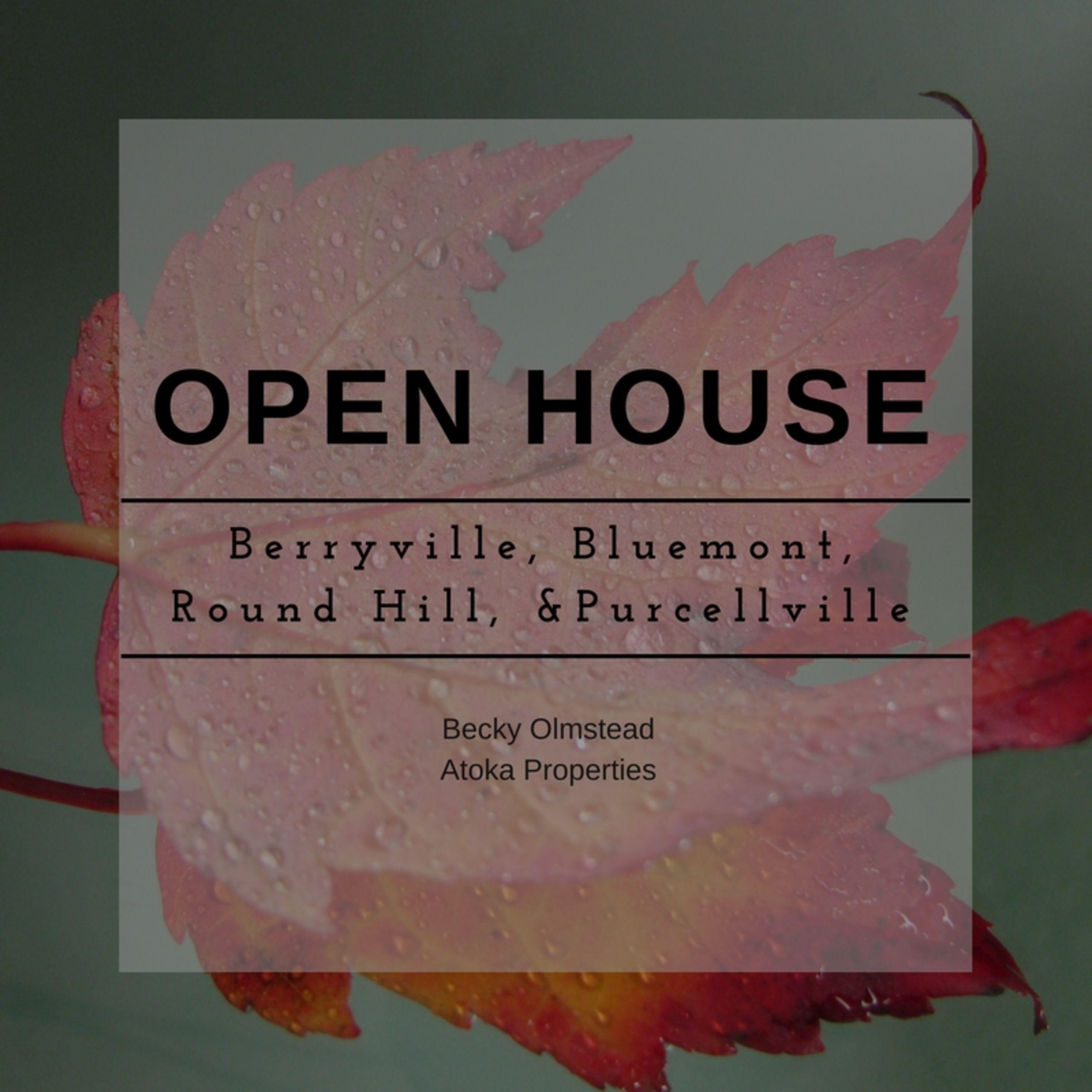 November 11 & 12 Open House
