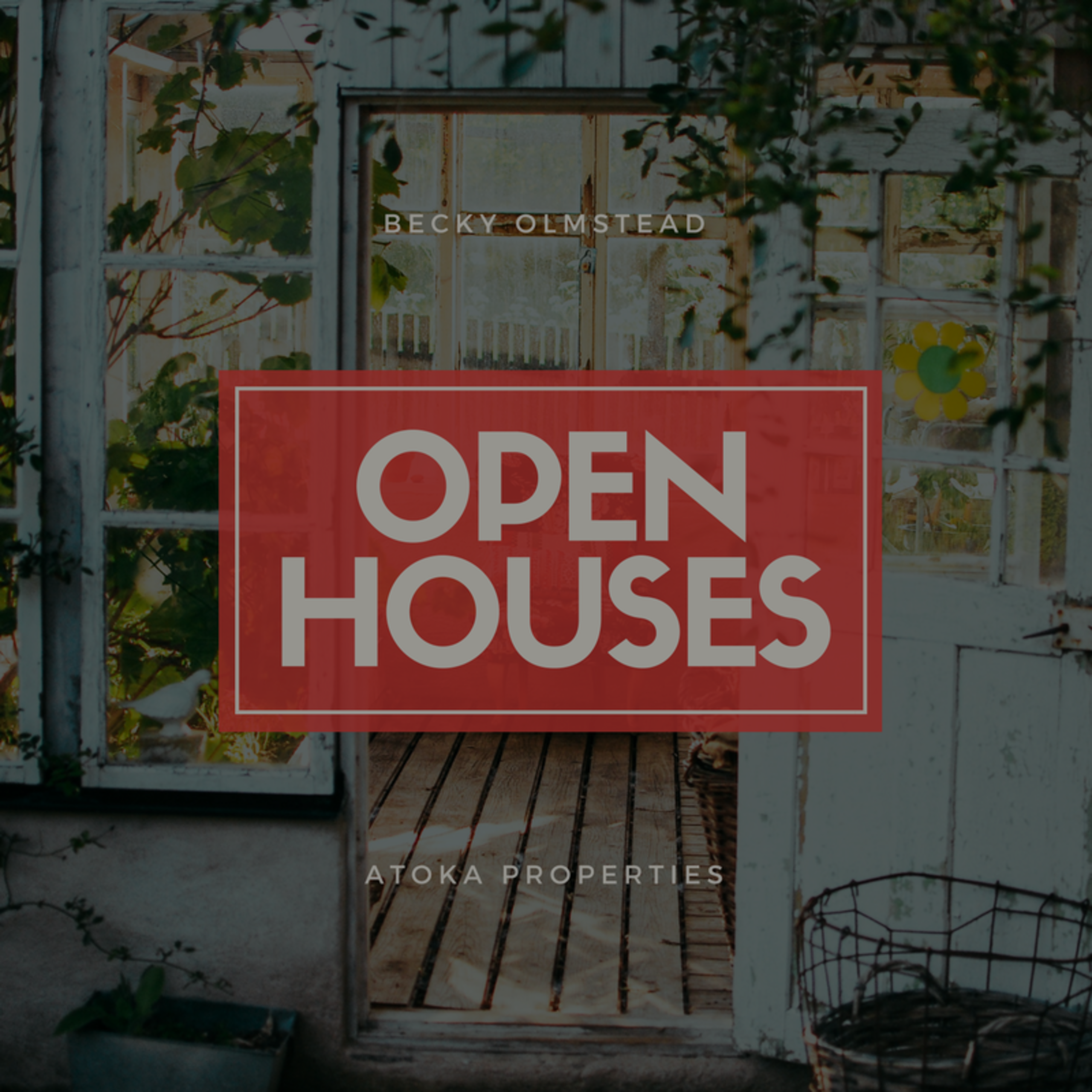 OPEN HOUSE LIST 12/30/17 – 12/31/17