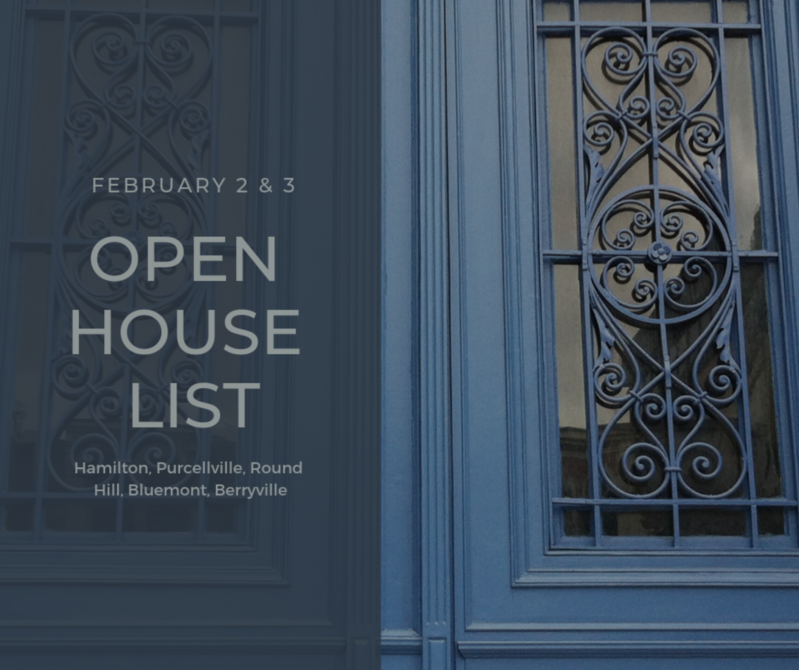 Open House List 2/2/19 – 2/3/19