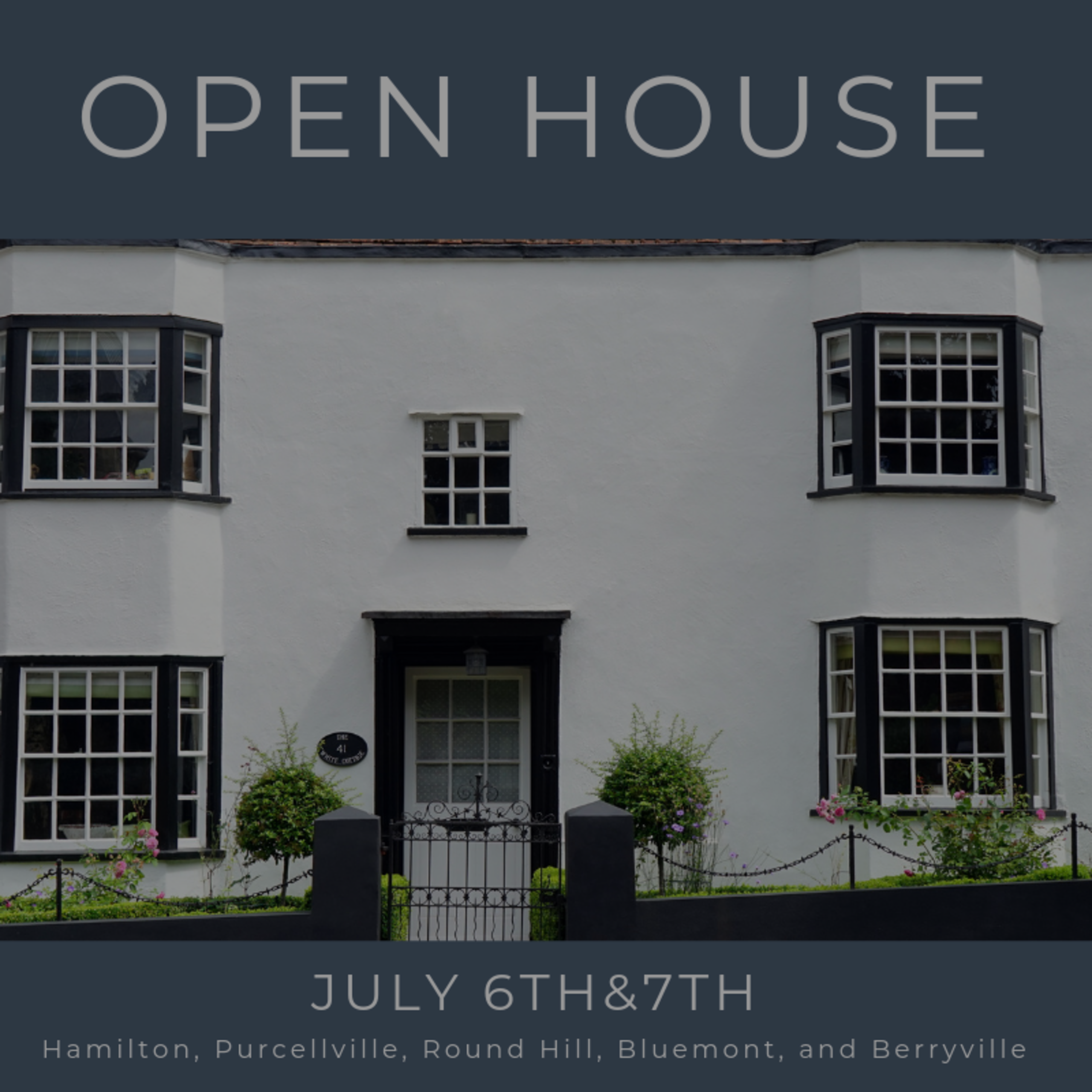 Open House List 7/6/19 – 7/7/19