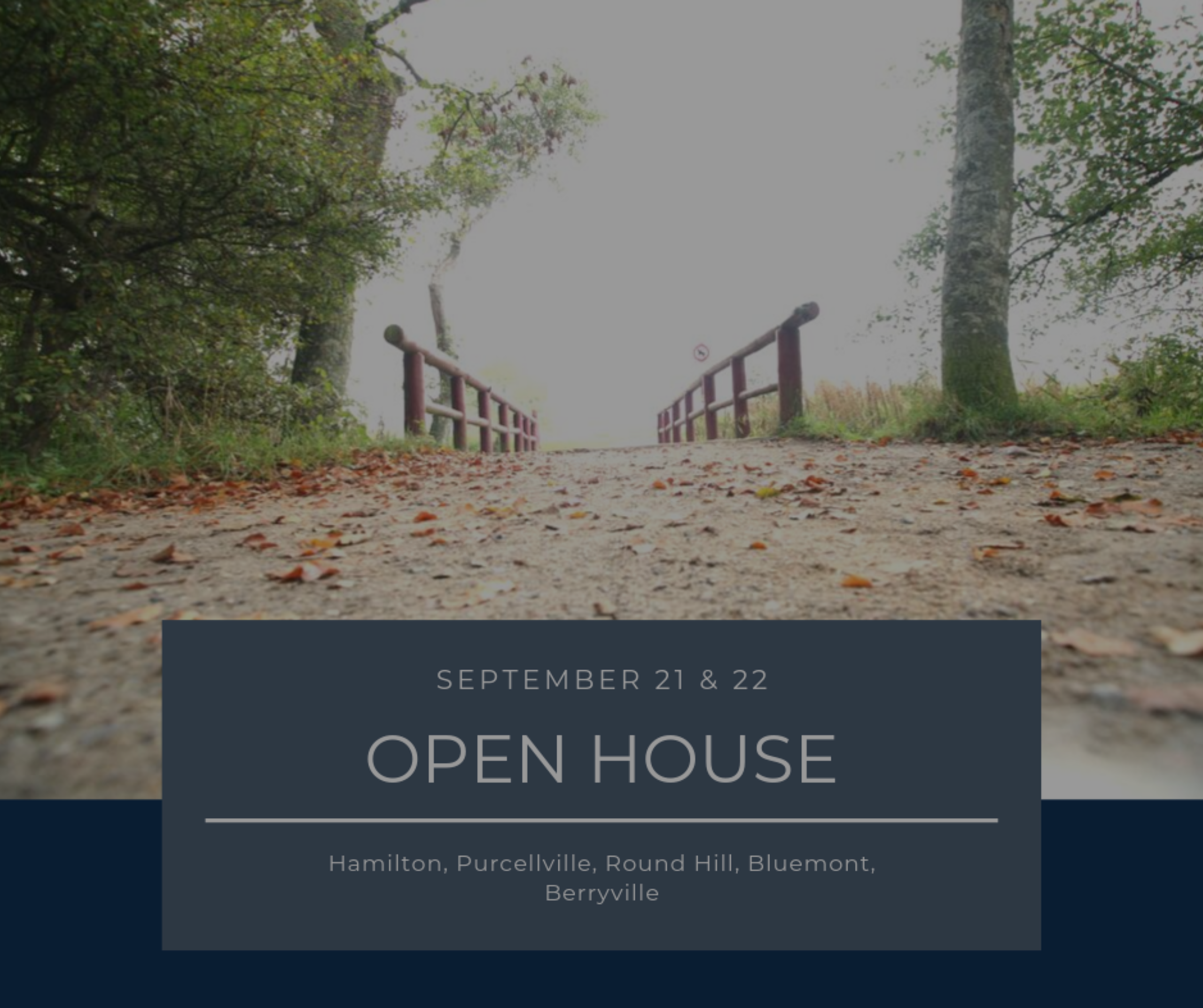 Open House List 9/21/19 – 9/22/19