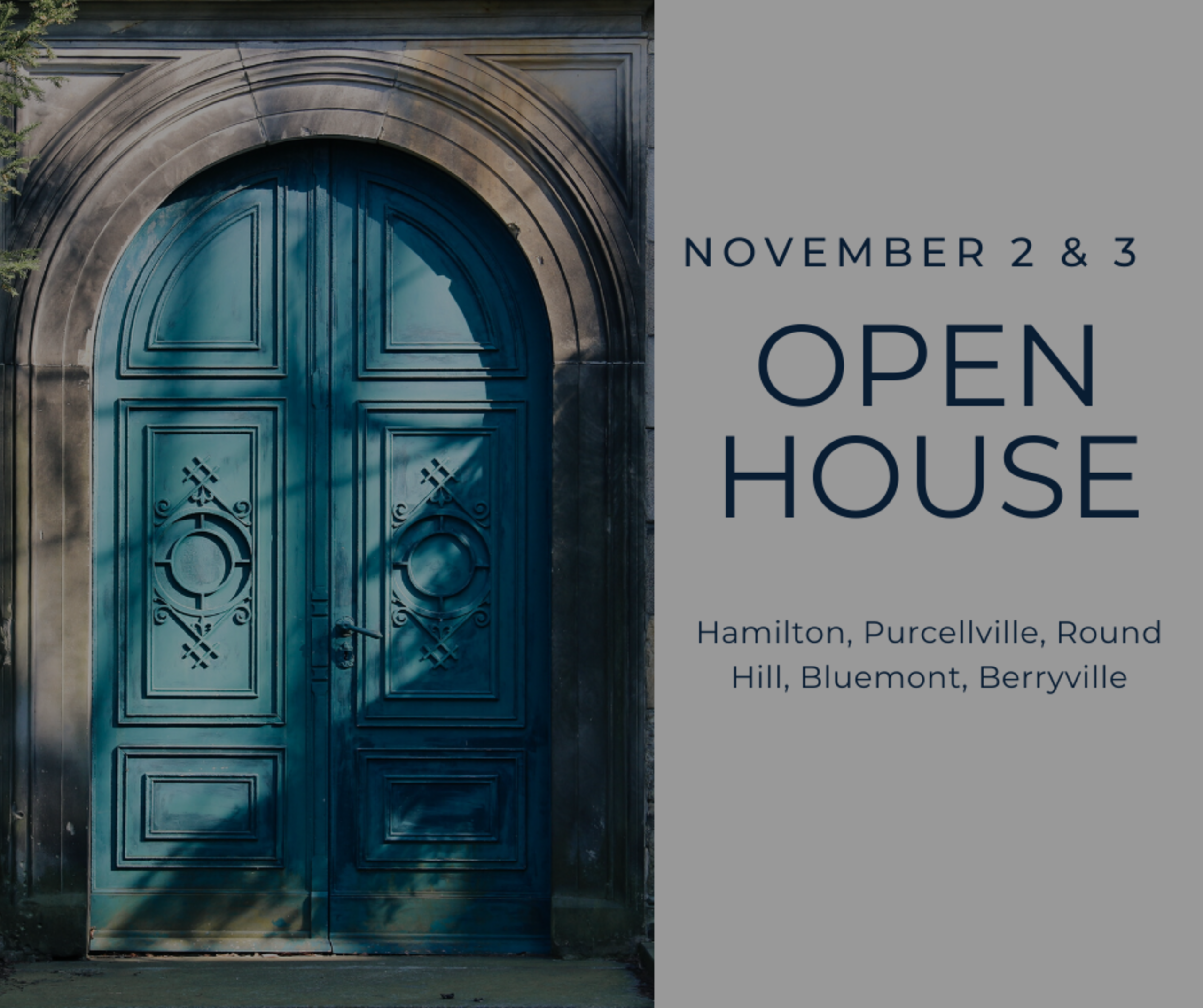 Open House List 11/2/19 – 11/3/19