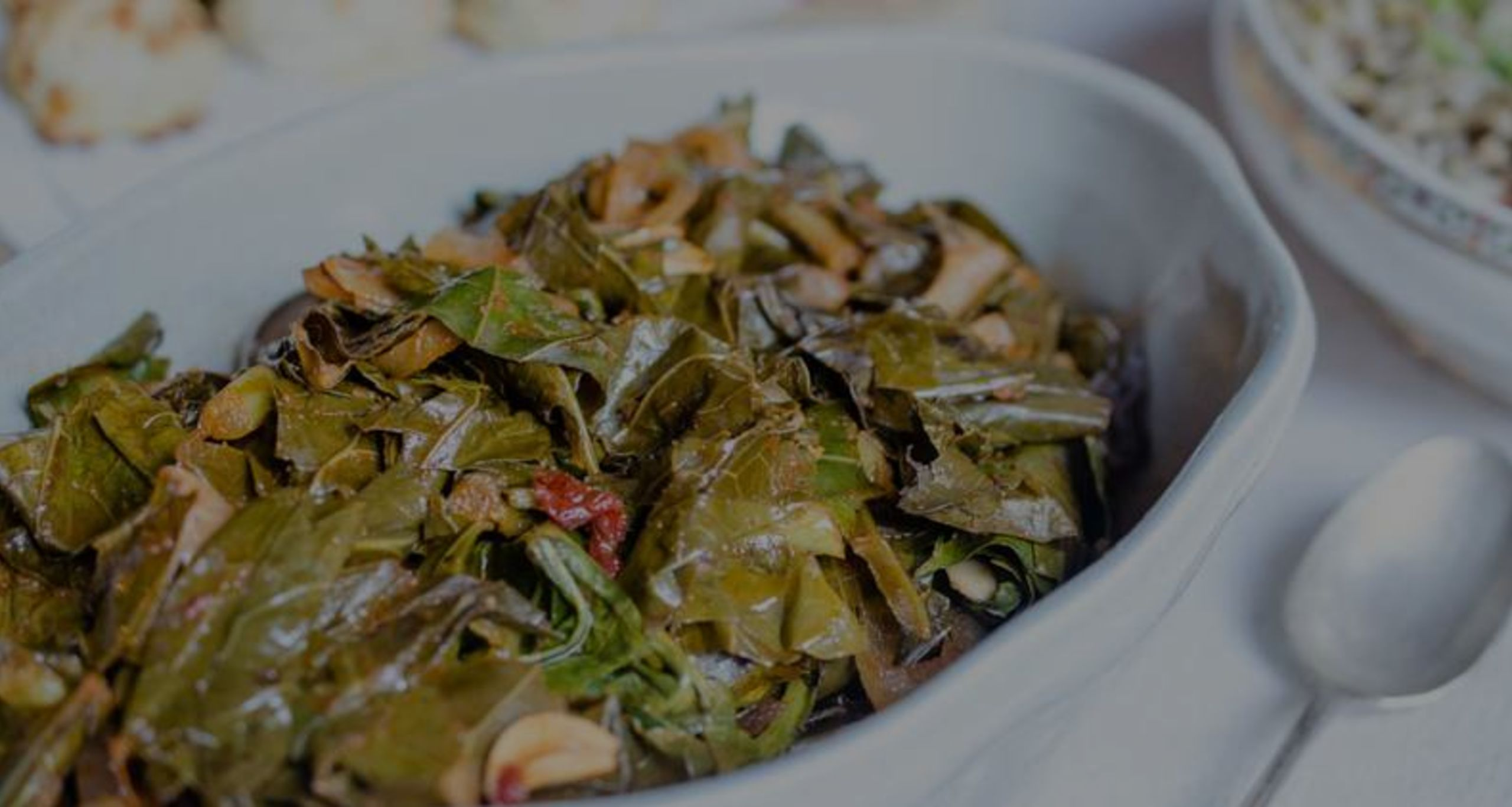 Recipe – Virginia Willis' Smoky Vegan Collard Greens