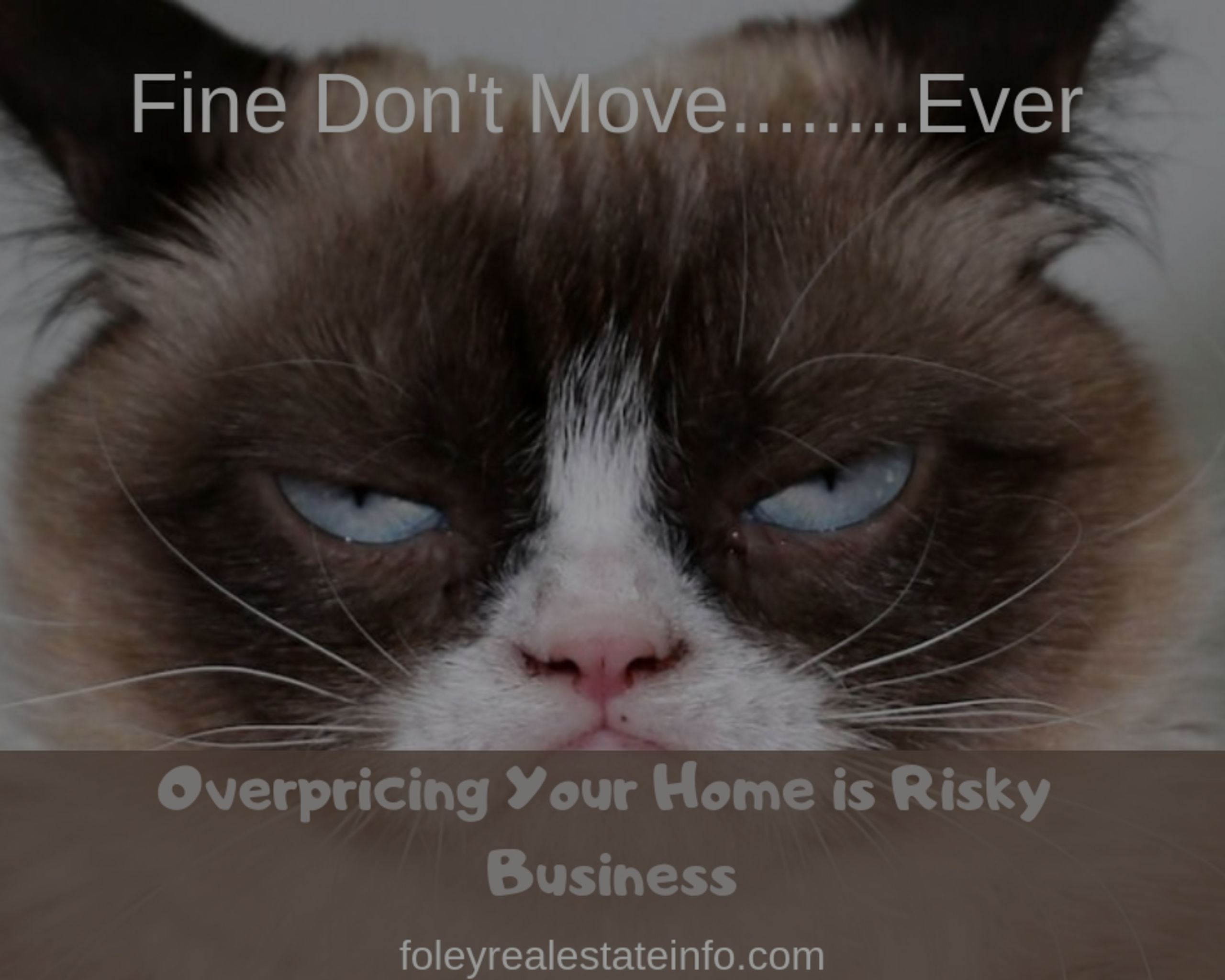Overpricing Your Home is Risky Business