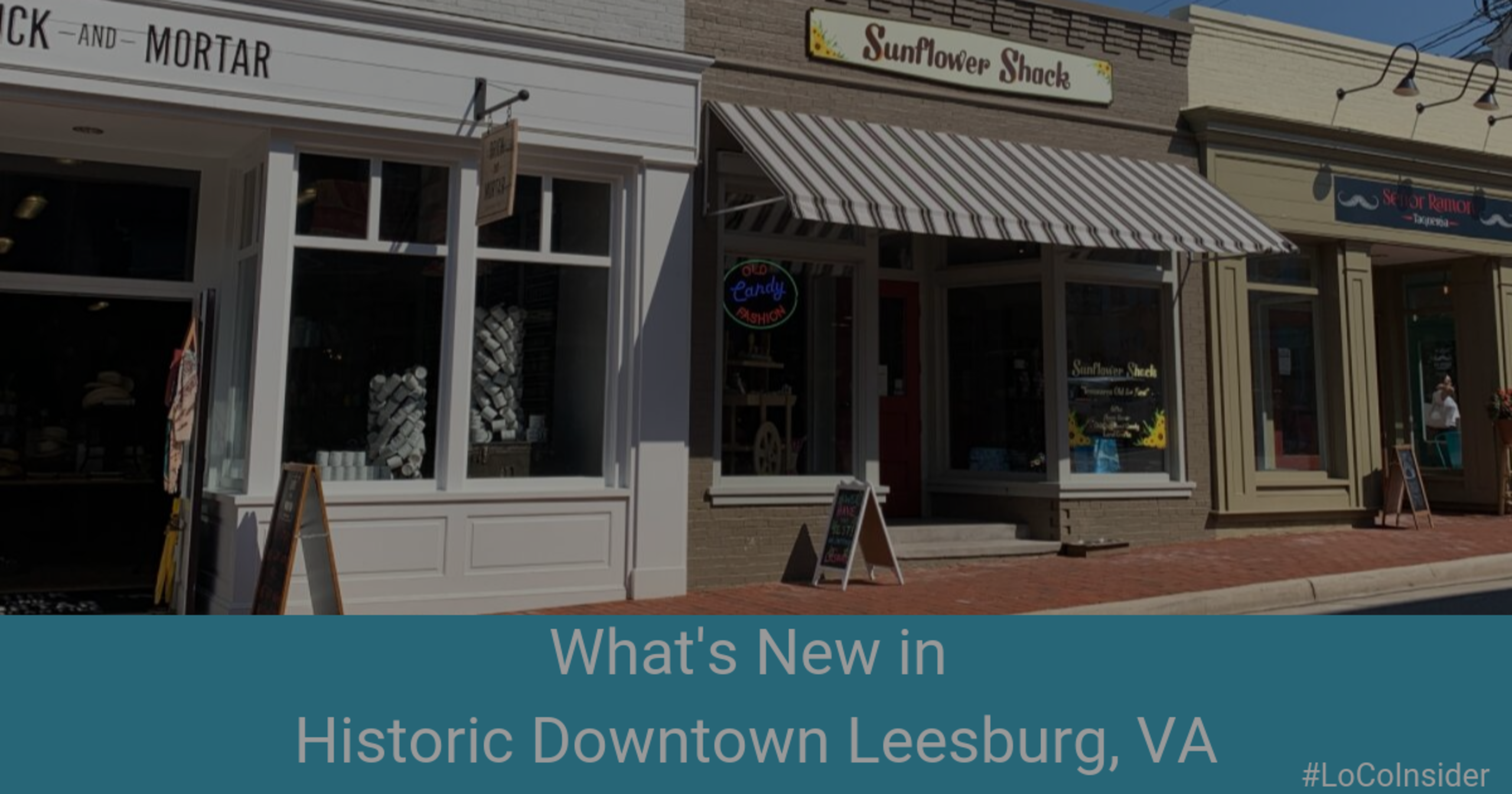 What's New in Historic Downtown Leesburg