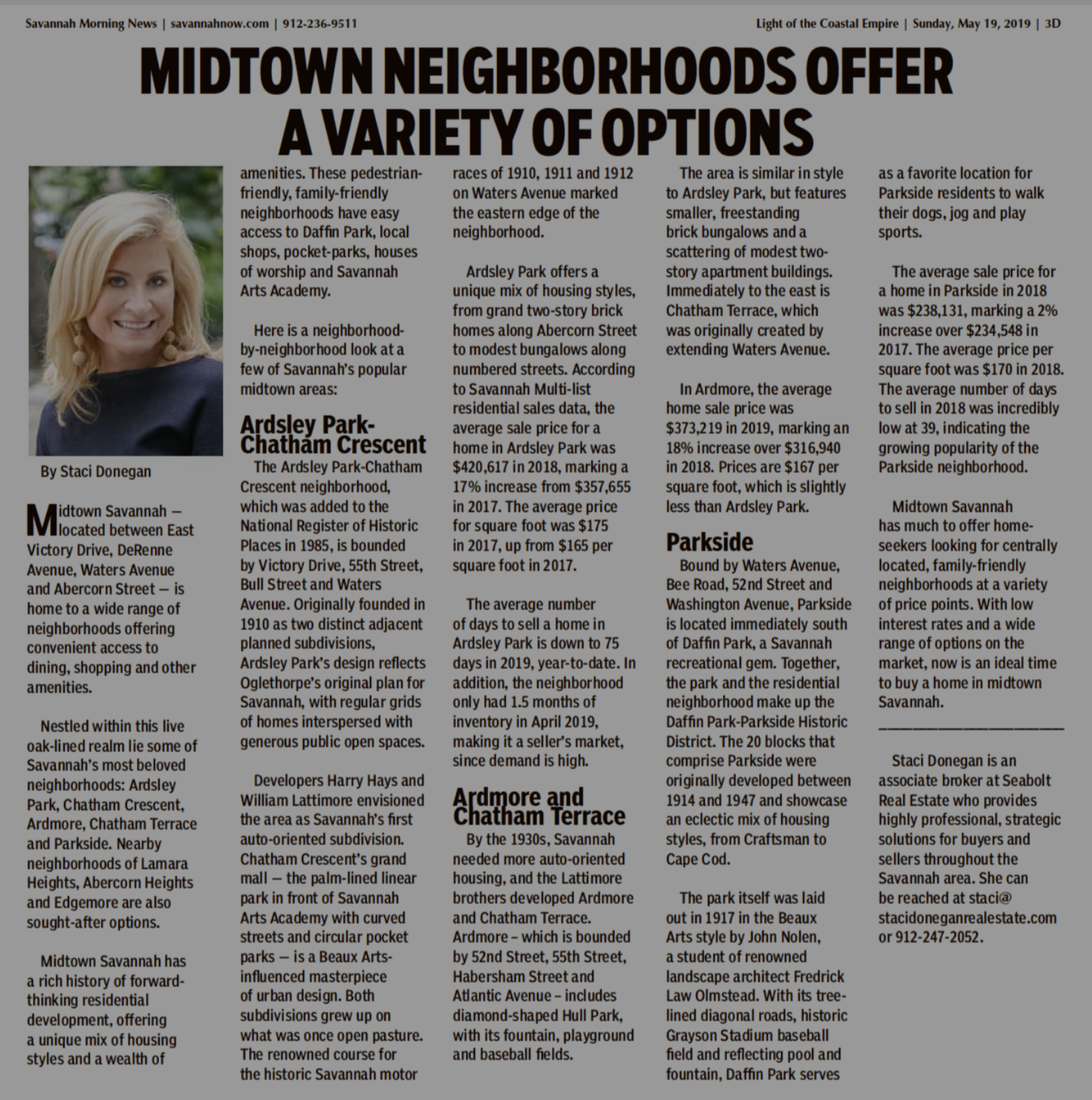 MIDTOWN NEIGHBORHOODS OFFER A VARIETY OF OPTIONS
