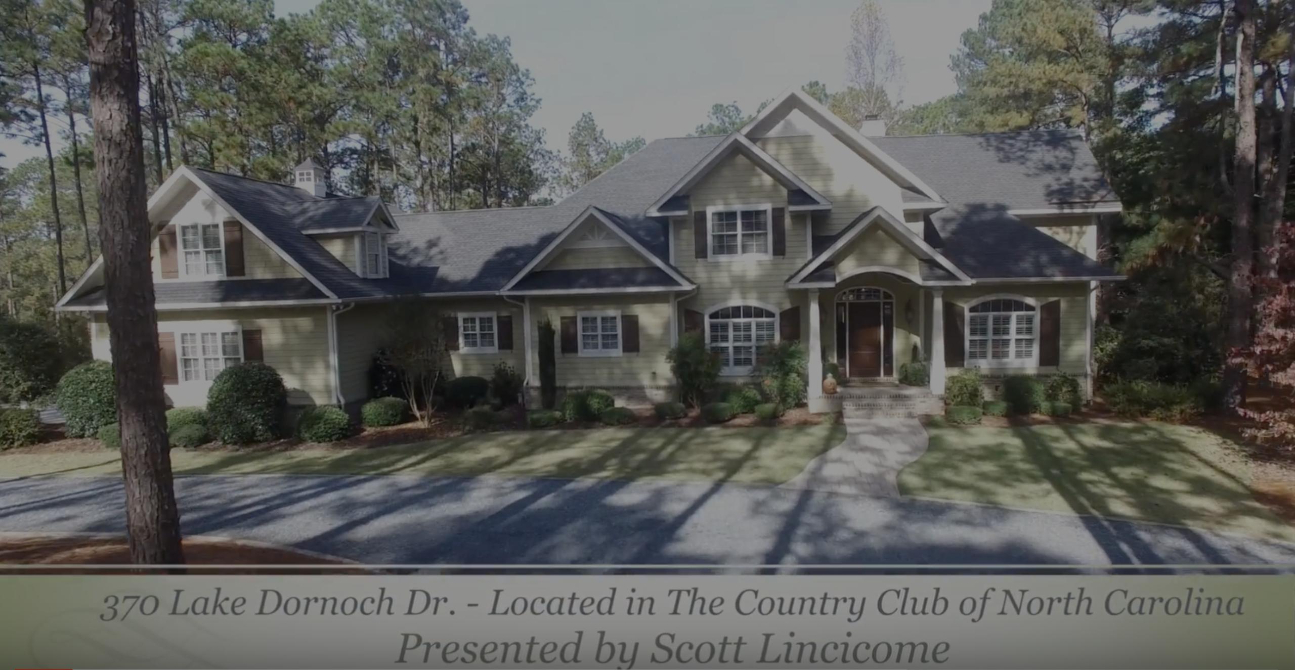 370 Lake Dornoch Road – Country Club of North Carolina