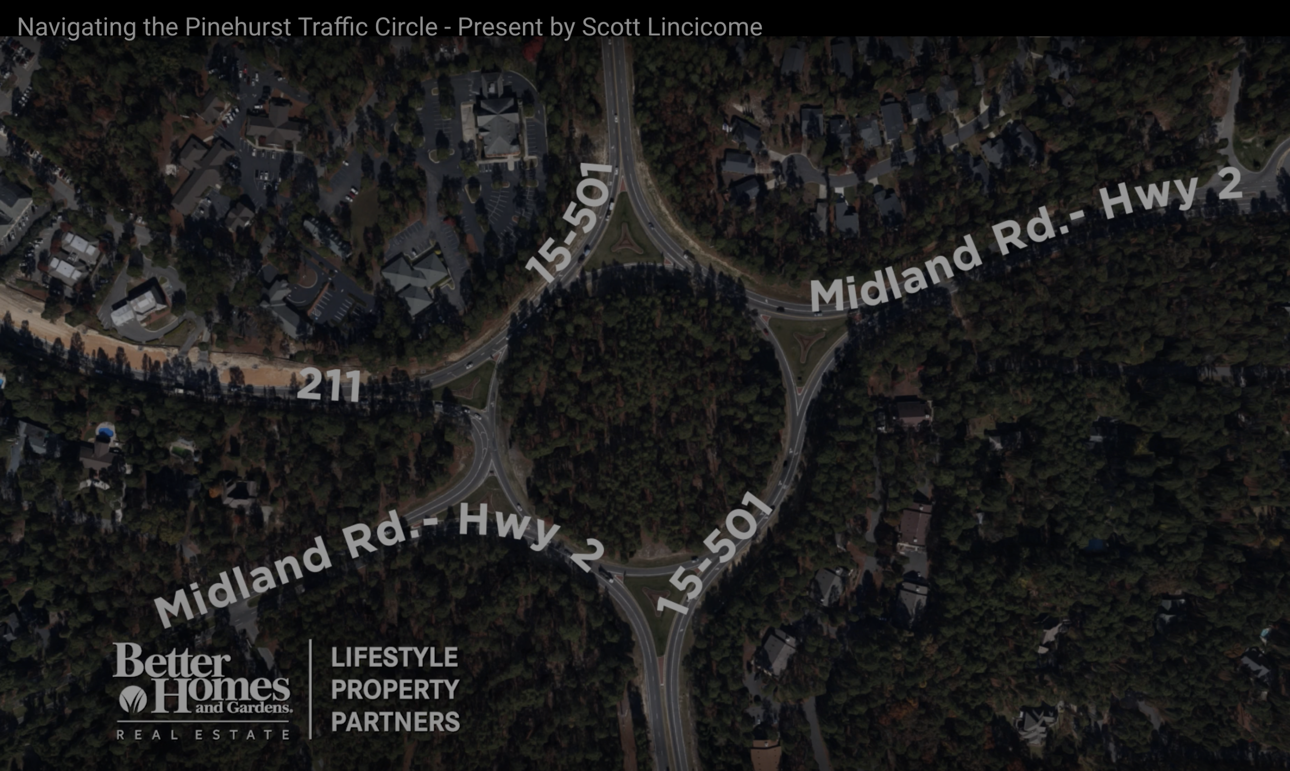 How to Navigate the Pinehurst/Southern Pines Traffic Circle
