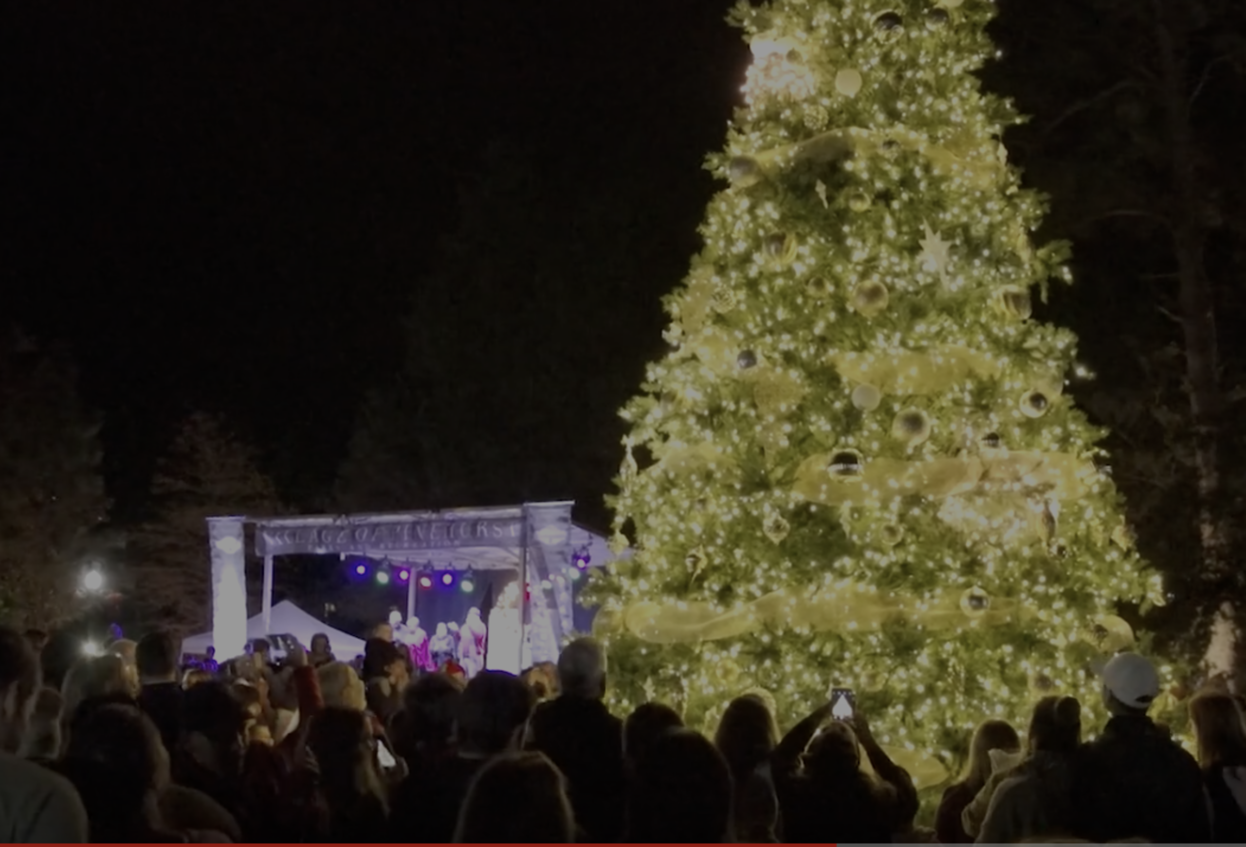 The Village of Pinehurst Christmas Tree Lighting 2018