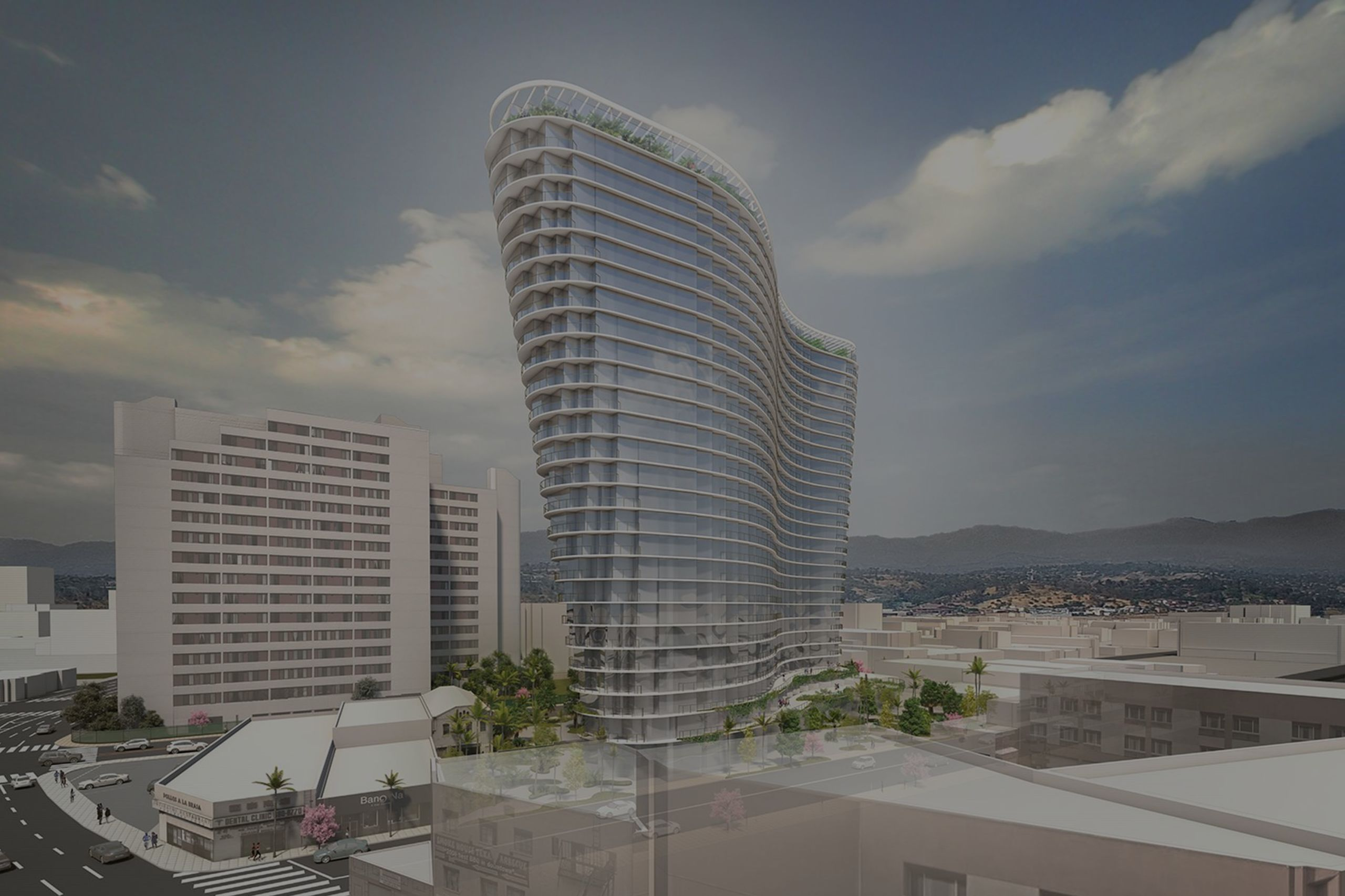 The First Los Angeles Project For Studio Gang: A Wavy, 26-Story Tower In The Heart Of Chinatown