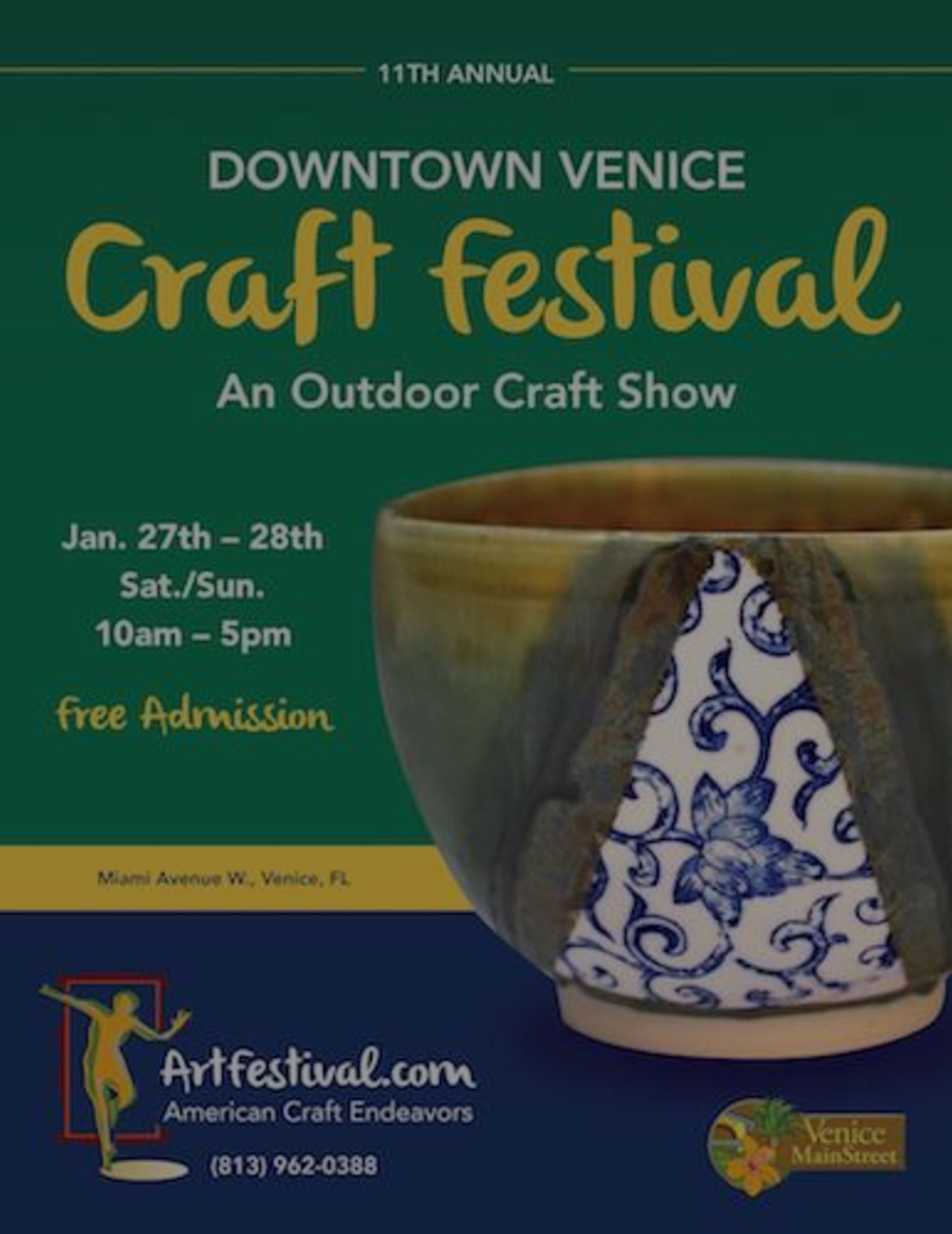 11th Annual Downtown Venice Craft Festival