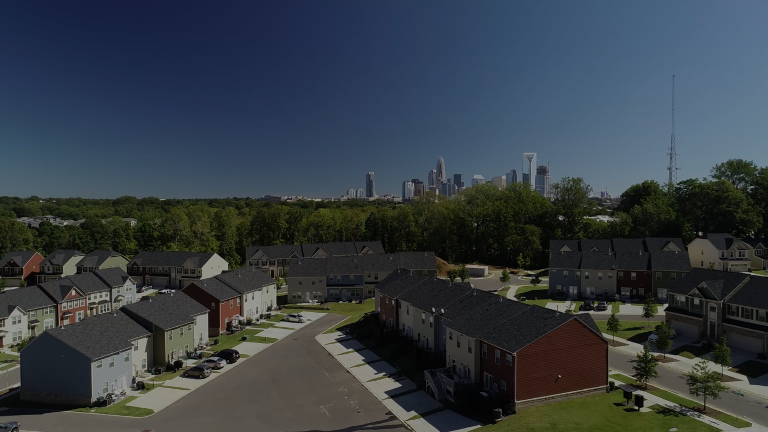 West Charlotte New and Old Neighborhoods
