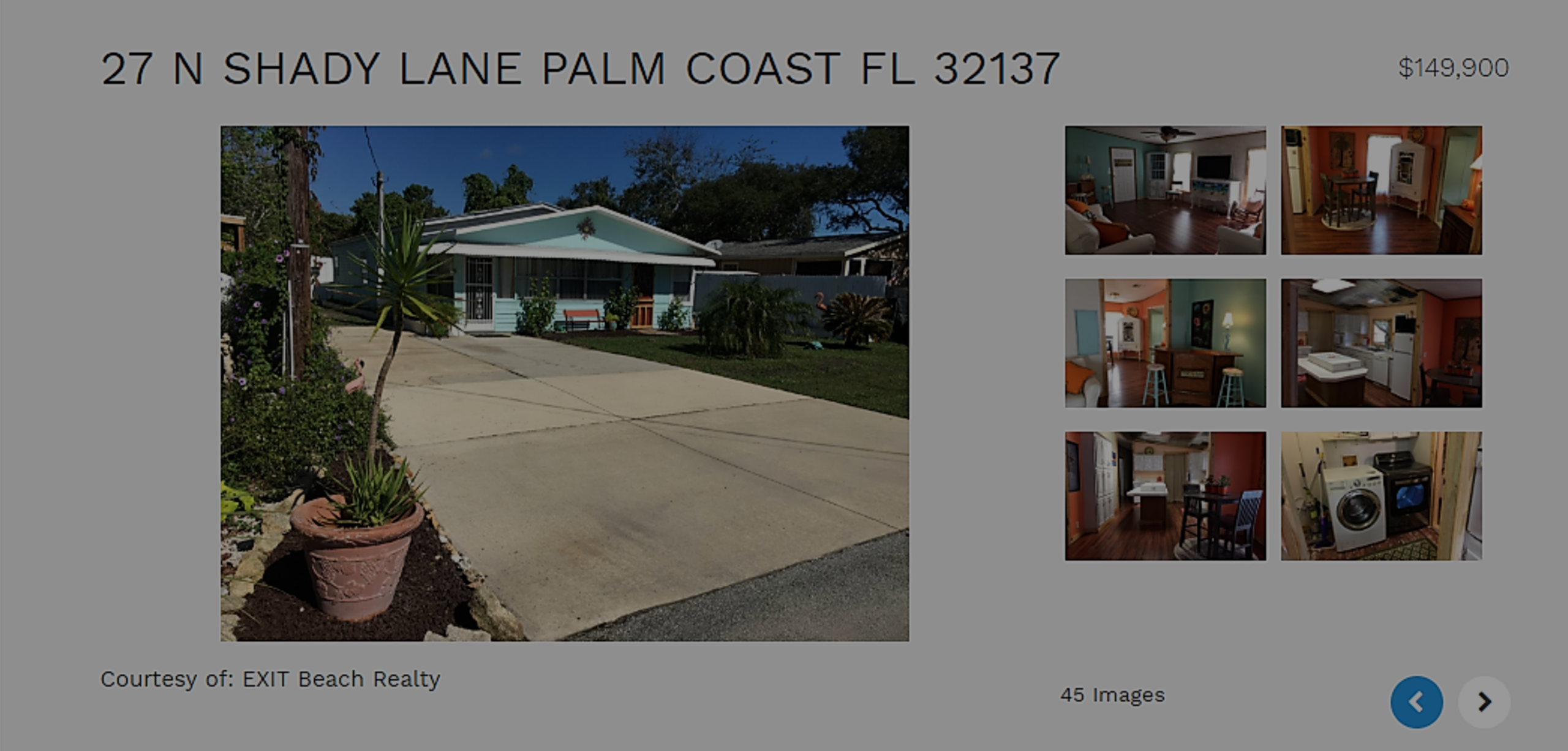 Palm Coast Home For Sale