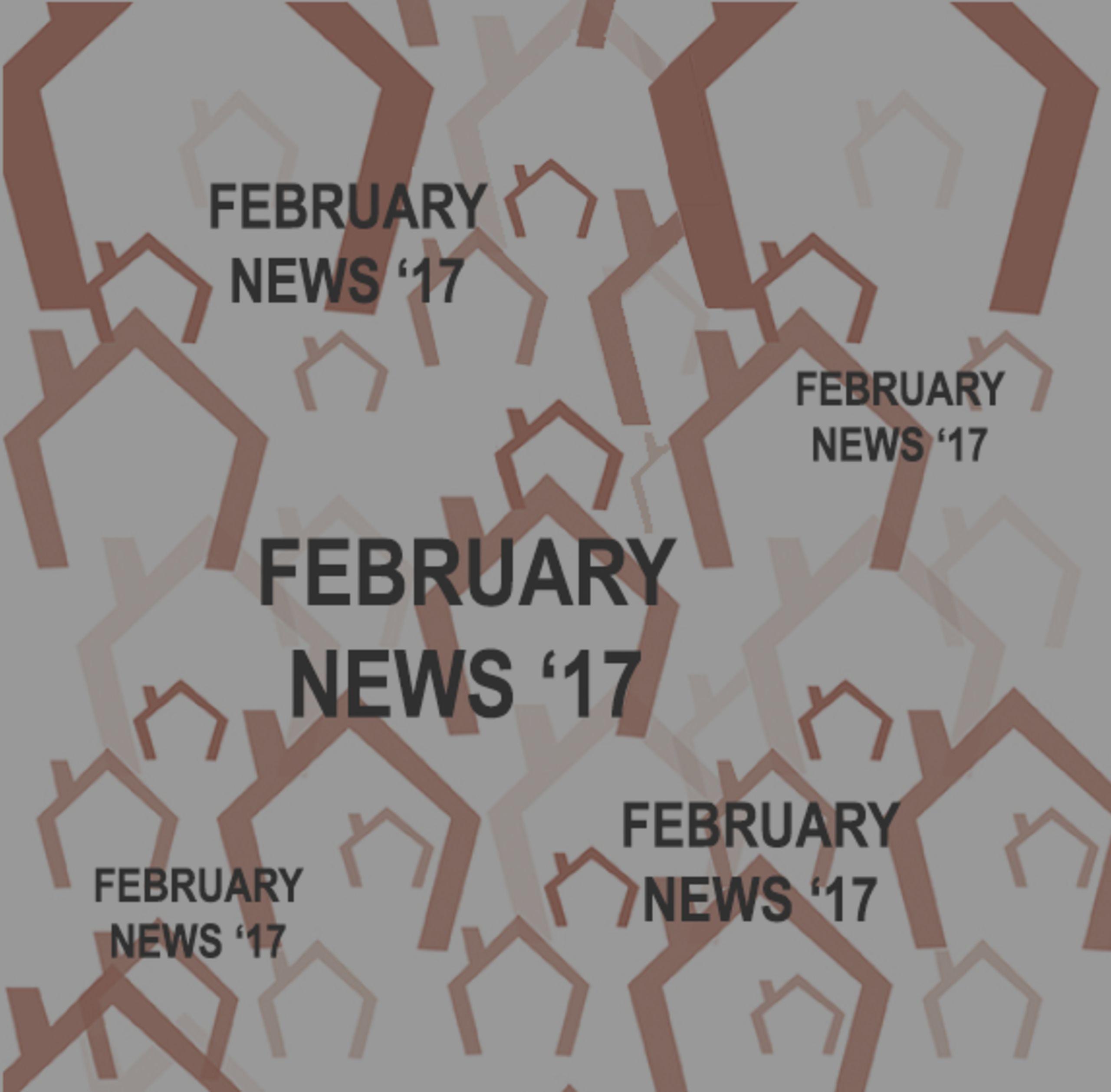 Cindy's Newsletter for February 2017