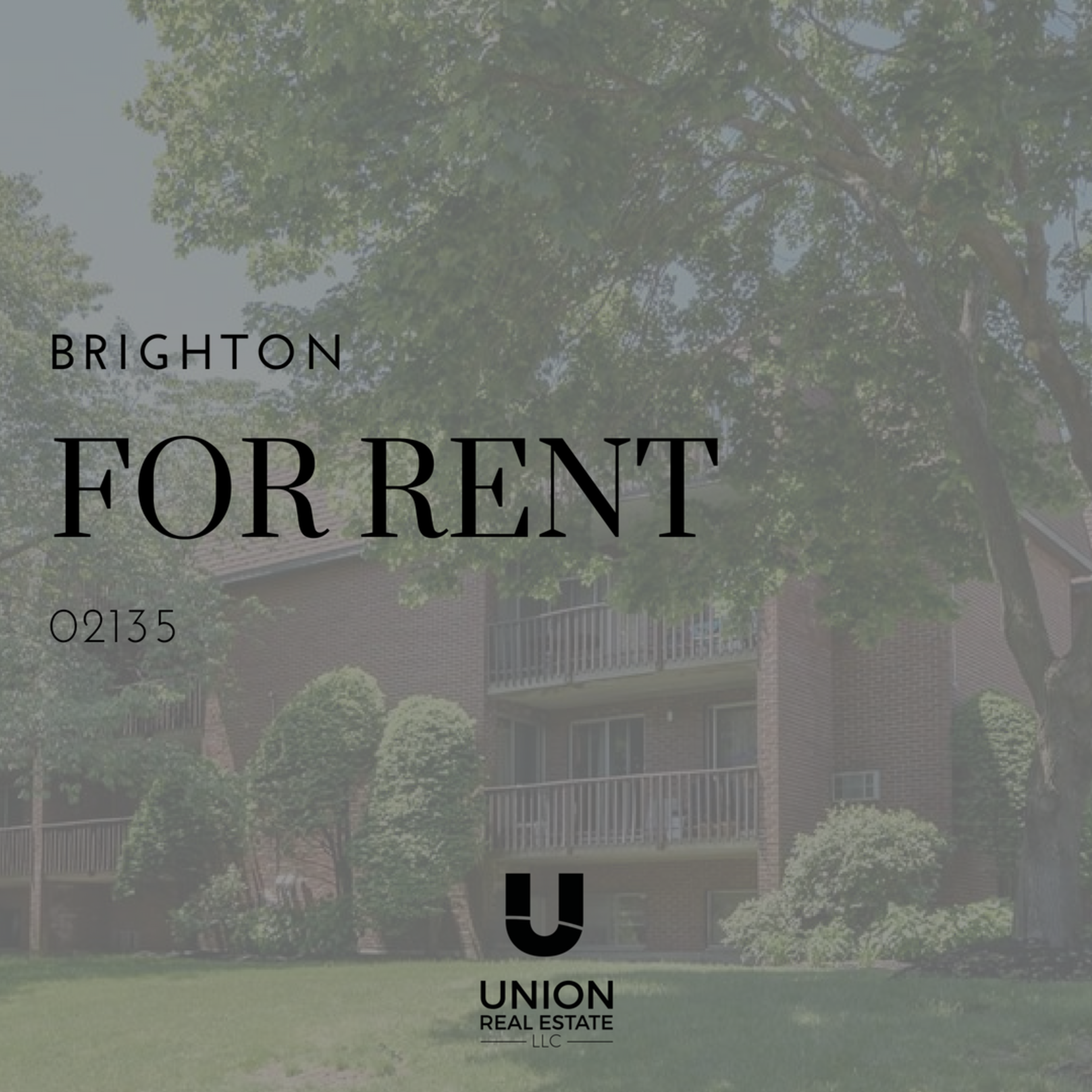 FOR RENT! Conveniently located 2 Bedrooms unit in Brighton