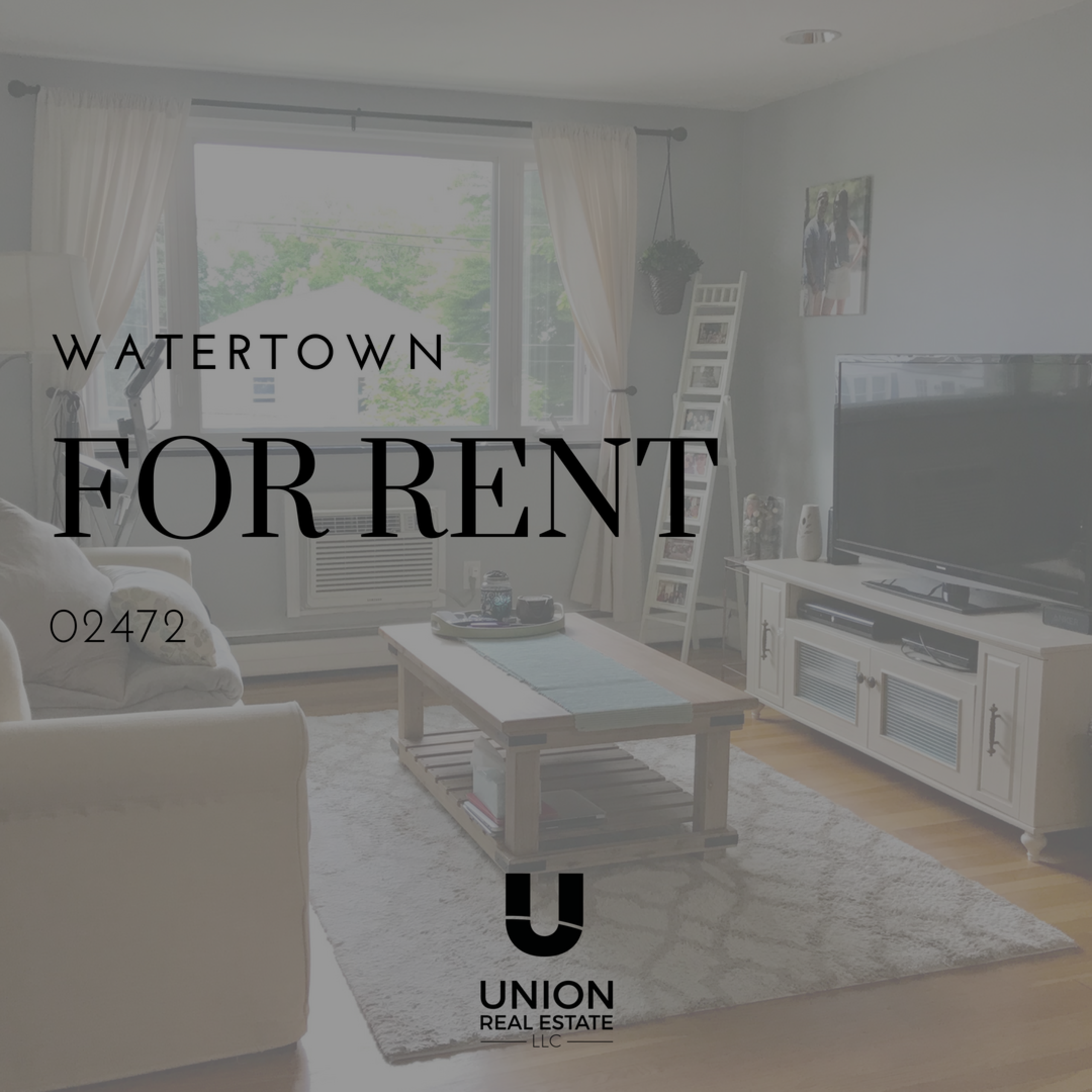 FOR RENT! SUN-FILLED 2 Bedrooms Unit in Watertown