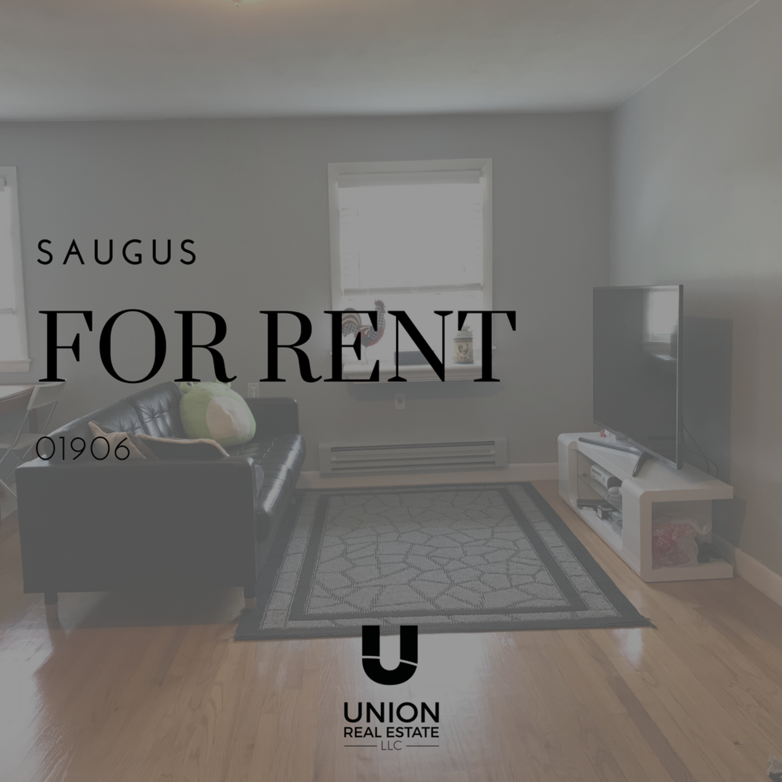 FOR RENT! Top Floor Unit in Saugus