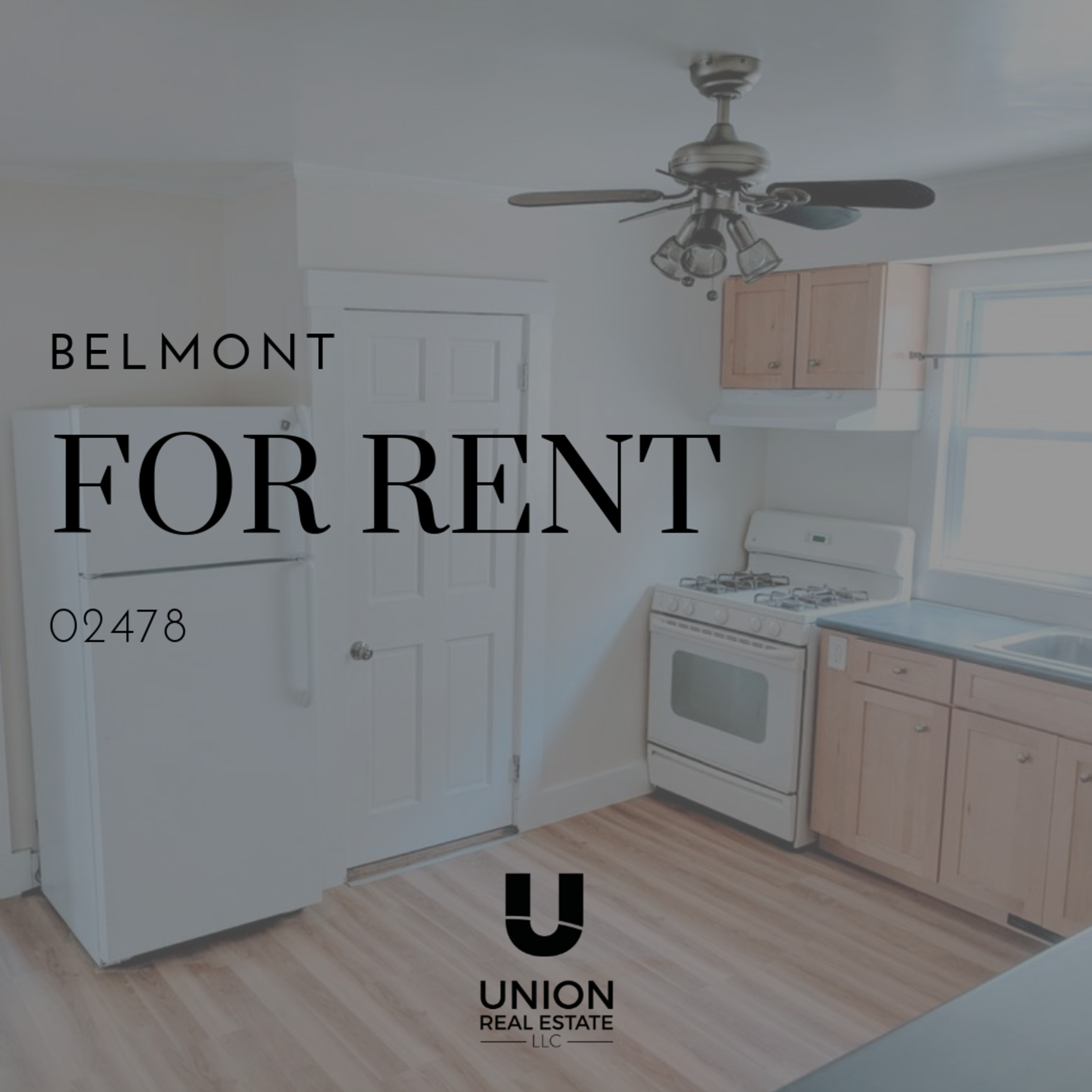 FOR RENT! Updated unit in desirable Belmont