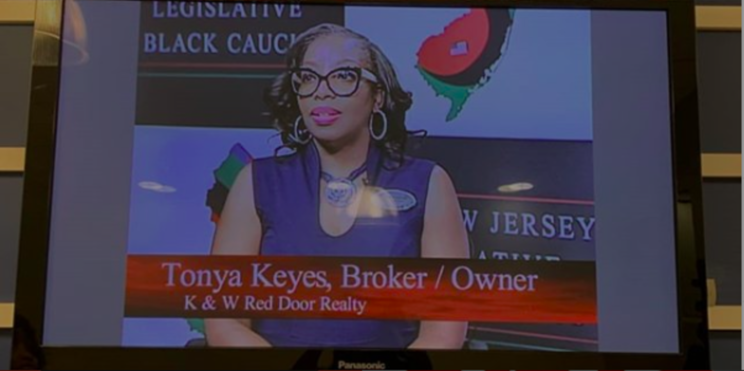 I appeared on TV – The New Jersey Legislative Black Caucus show