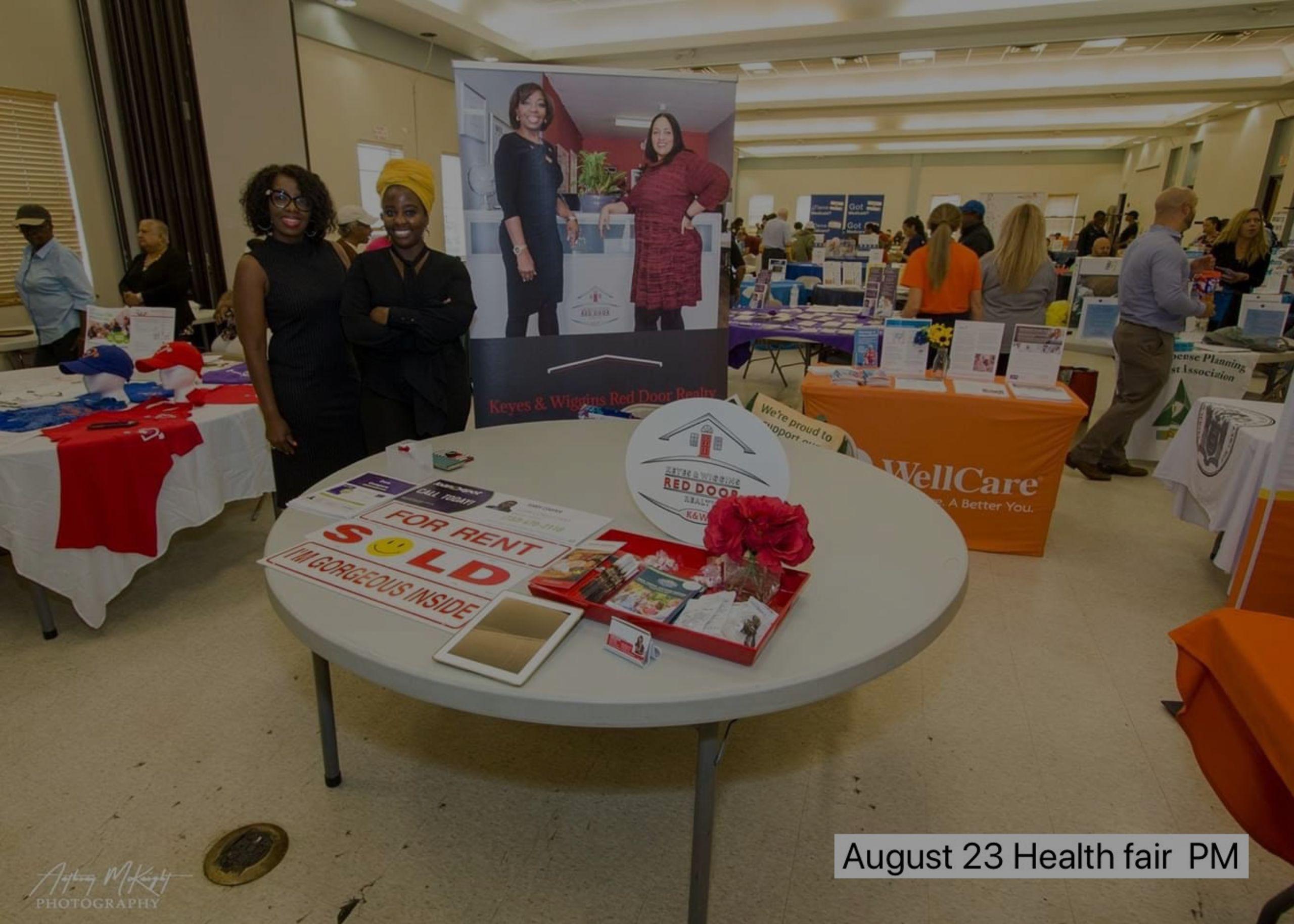 Senior Citizens Health Fair With AngelaCARES