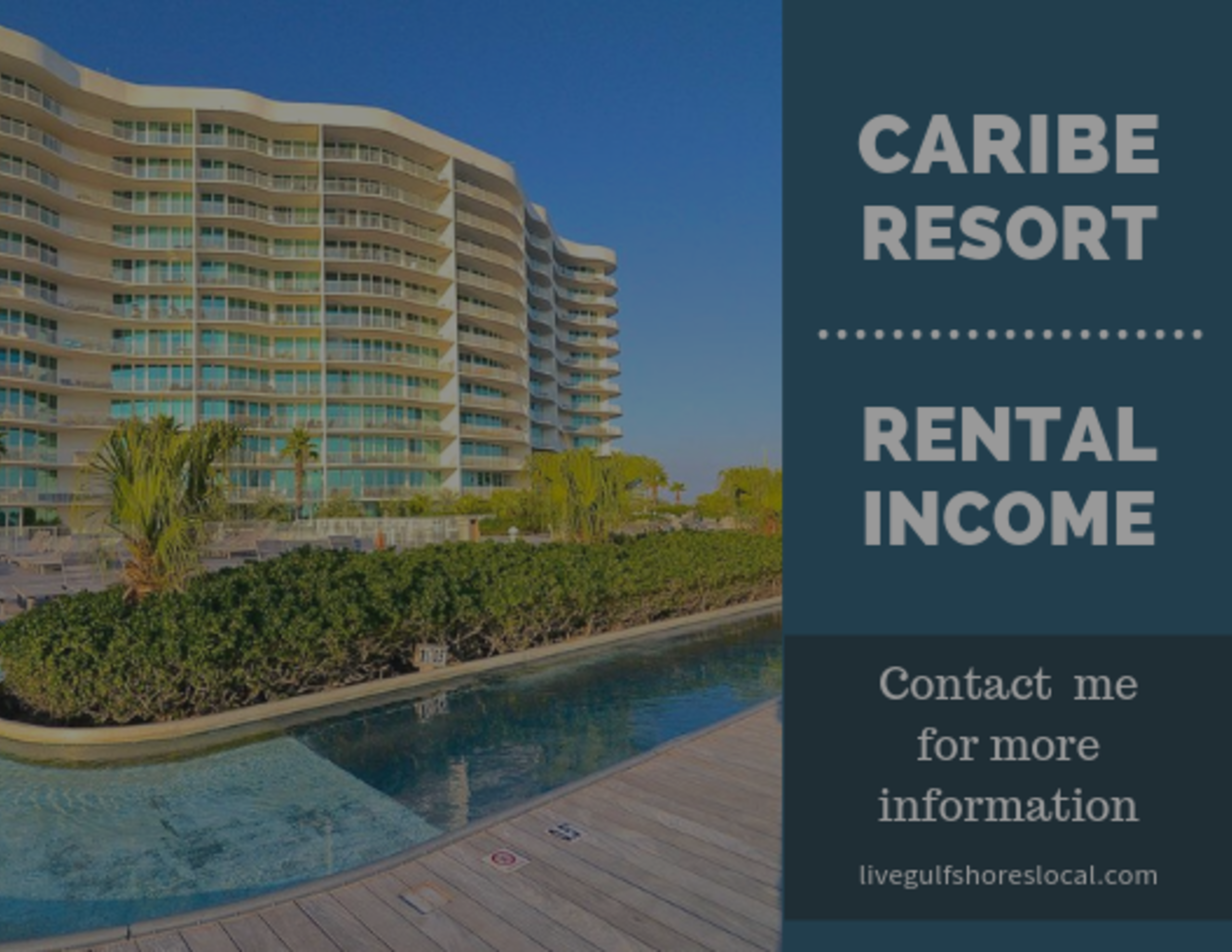 Rental Income for Caribe Resort