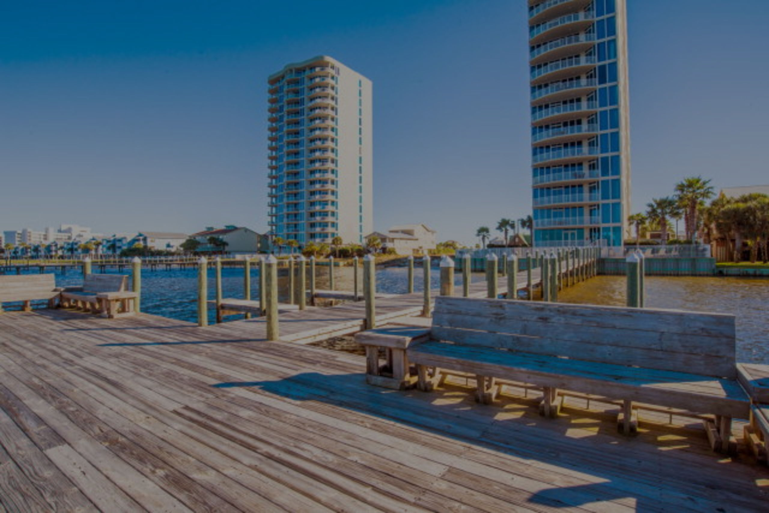 Condos in Gulf Shores AL with Boat Slips