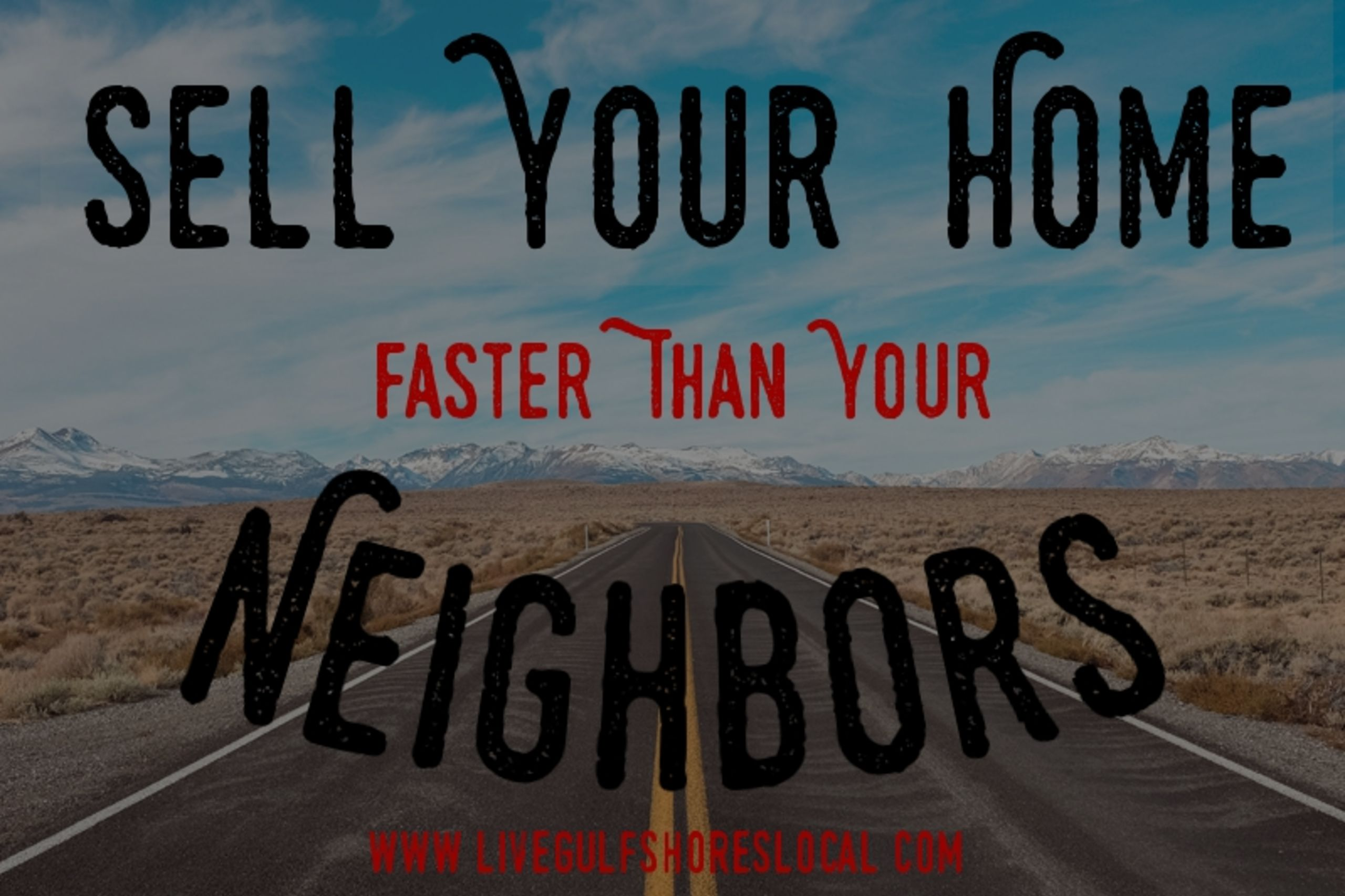 Sell Your Home Faster Than Your Neighbors