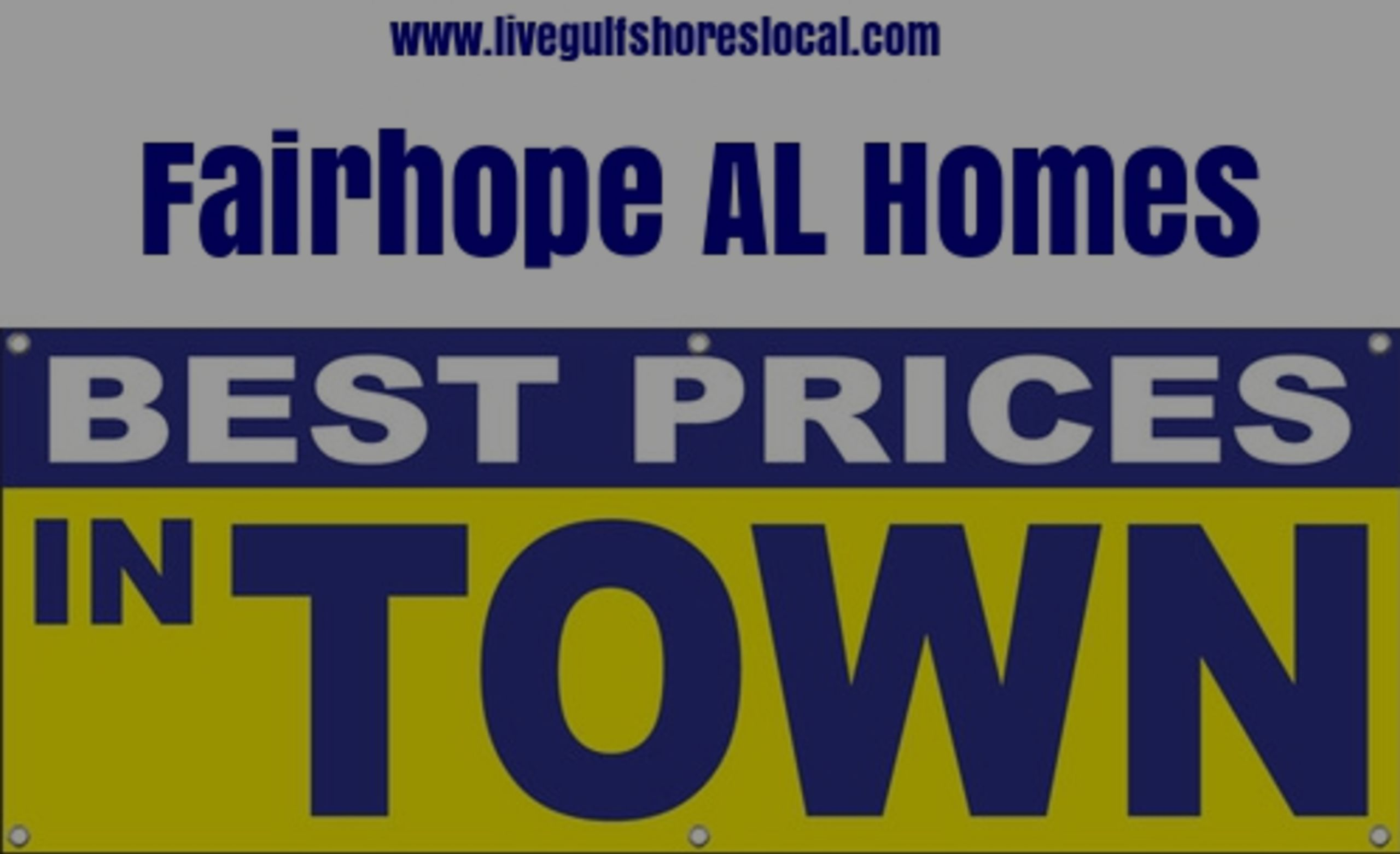 Best Real Estate Prices in Fairhope AL