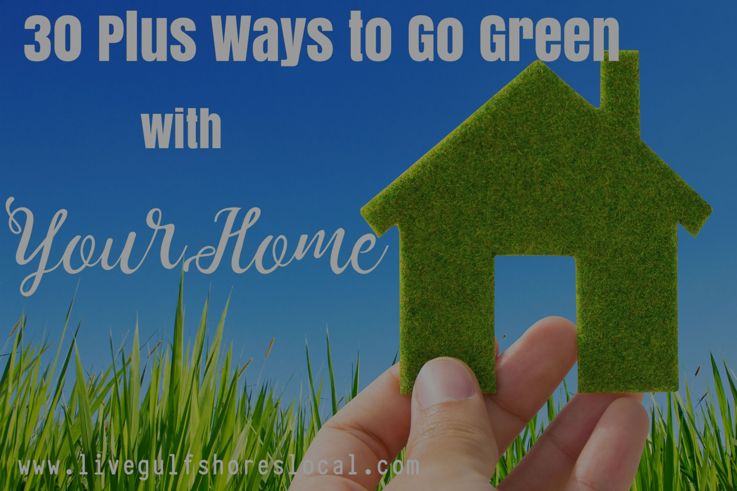 30 Plus Ways to Go Green with Your Home