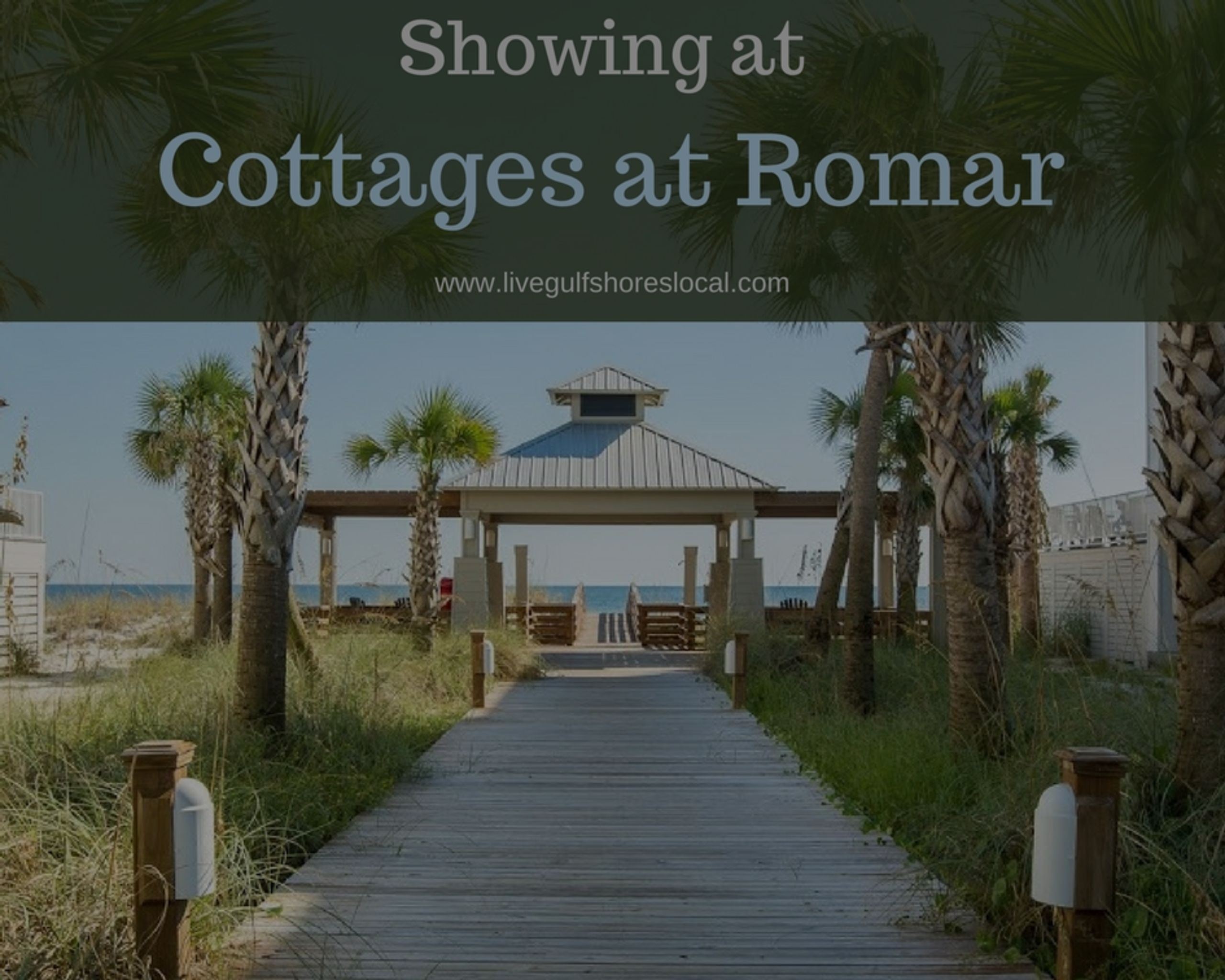 Showing at Cottage at Romar