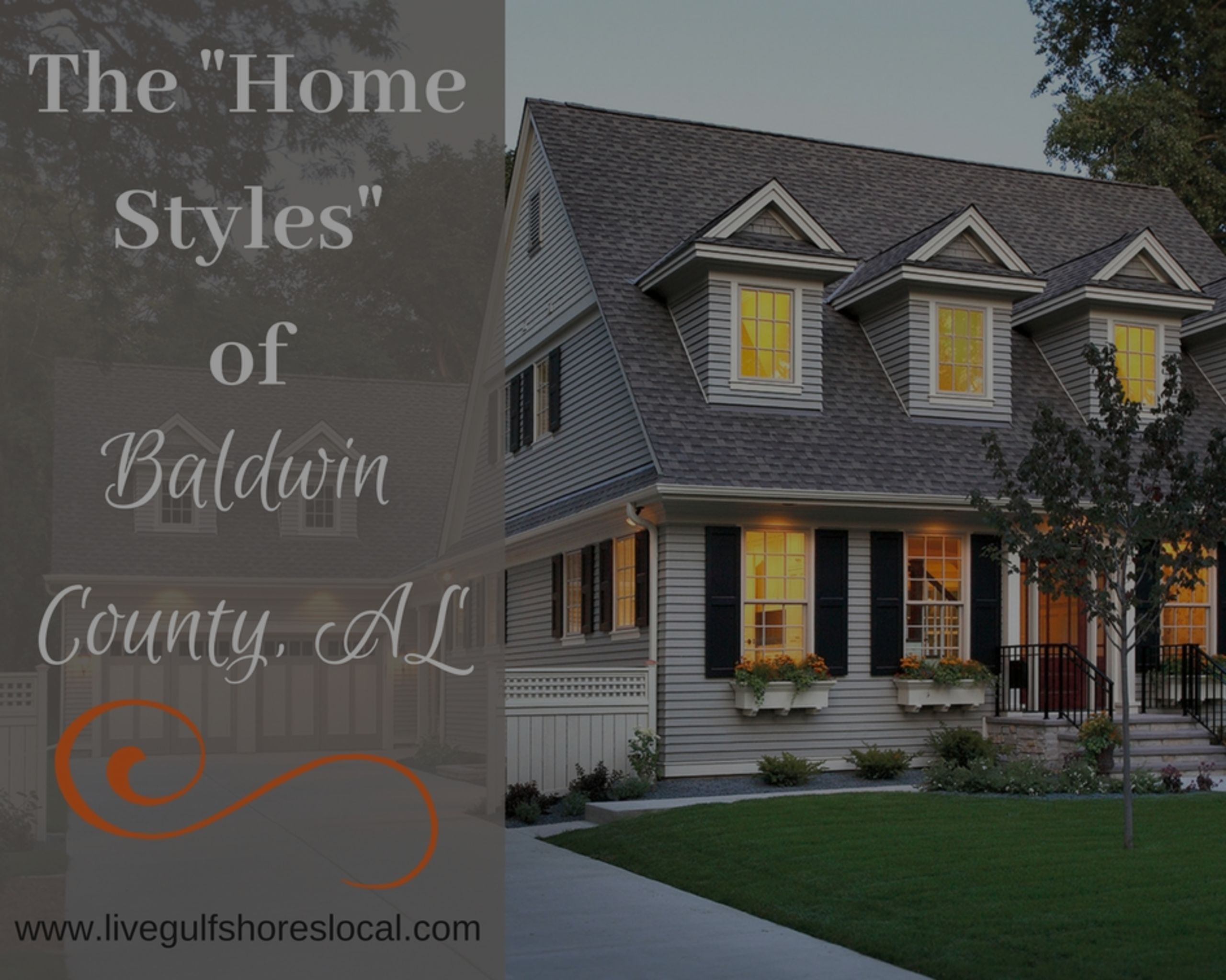 Different Styles of Homes in Baldwin County