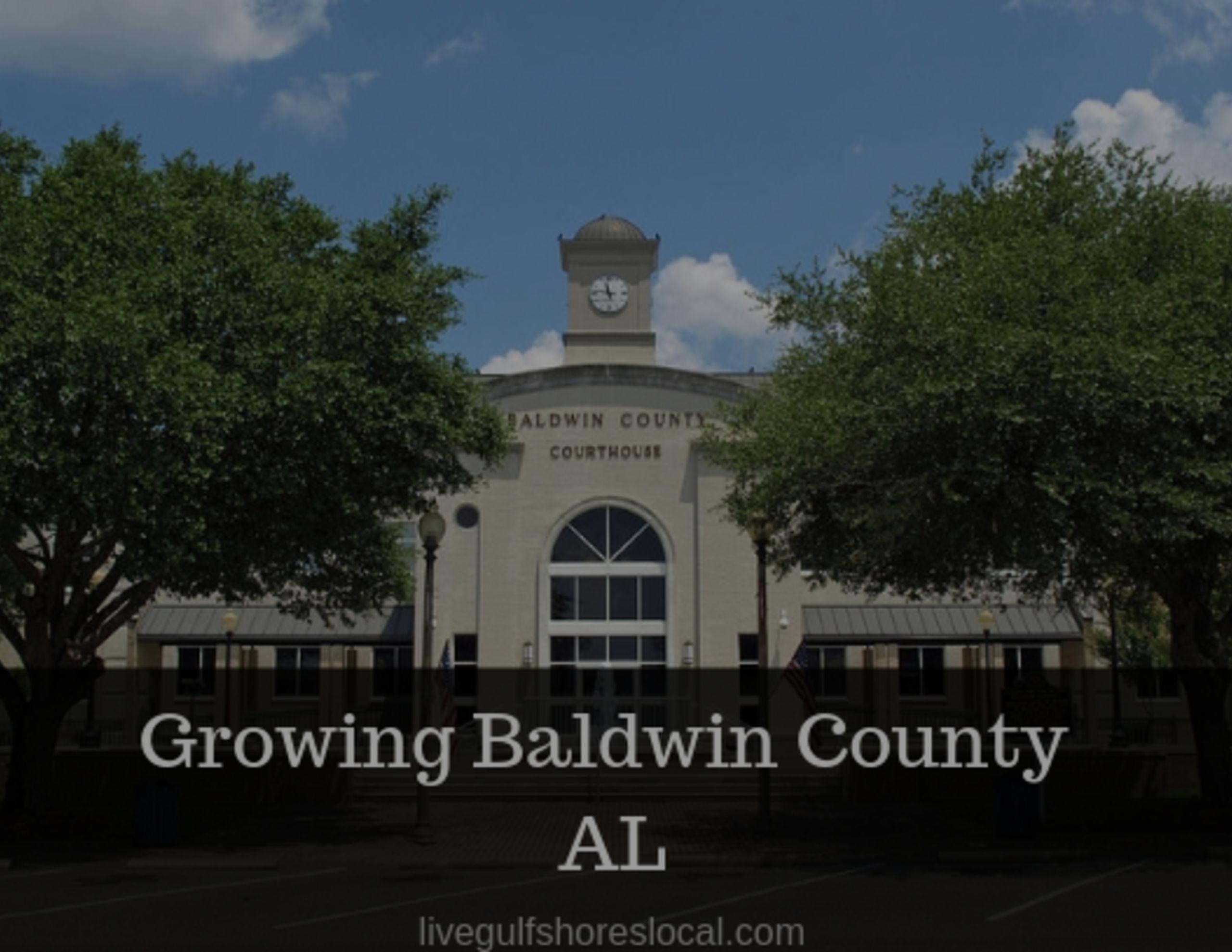Baldwin County Continues to Grow