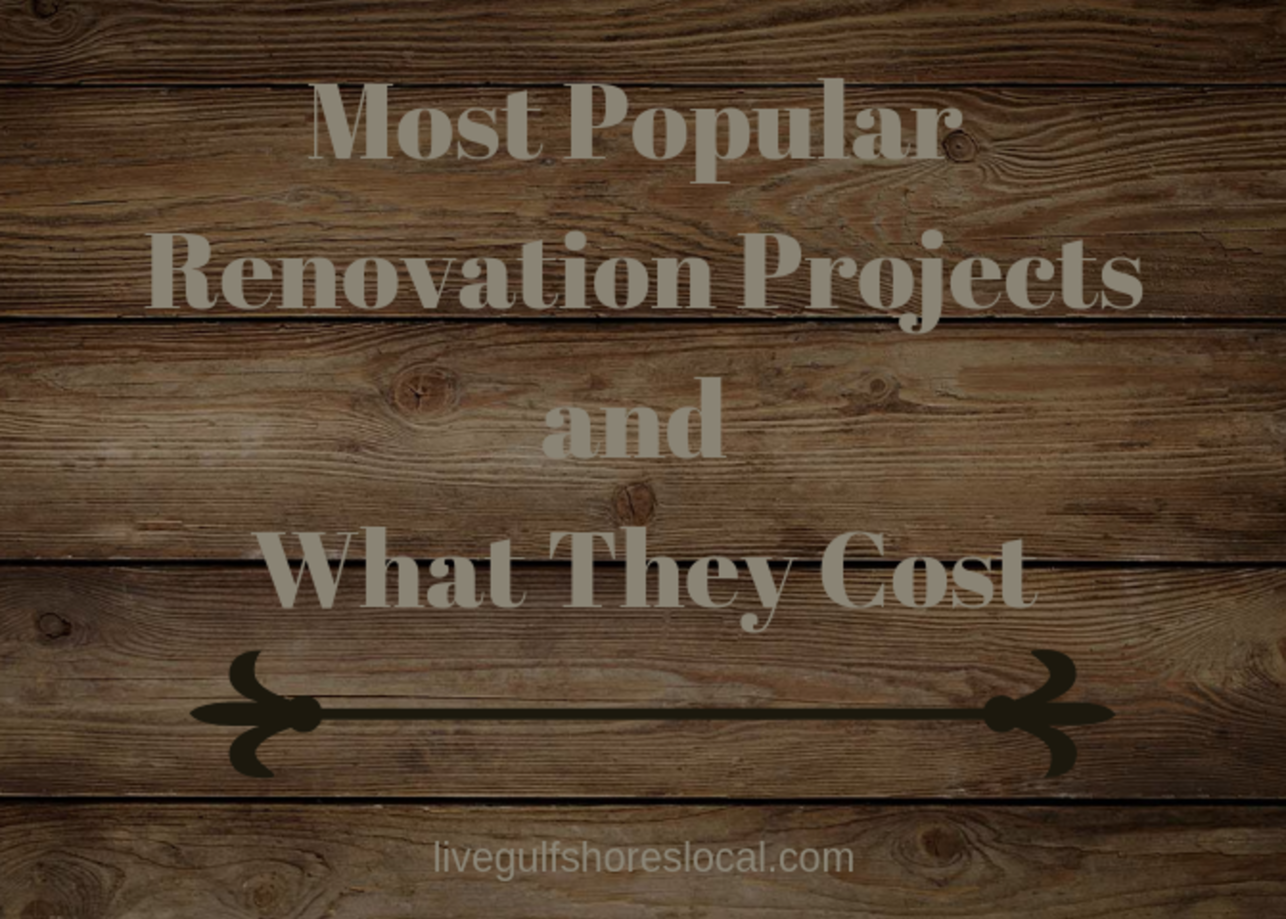 The Most Popular Renovation Projects and What They Cost